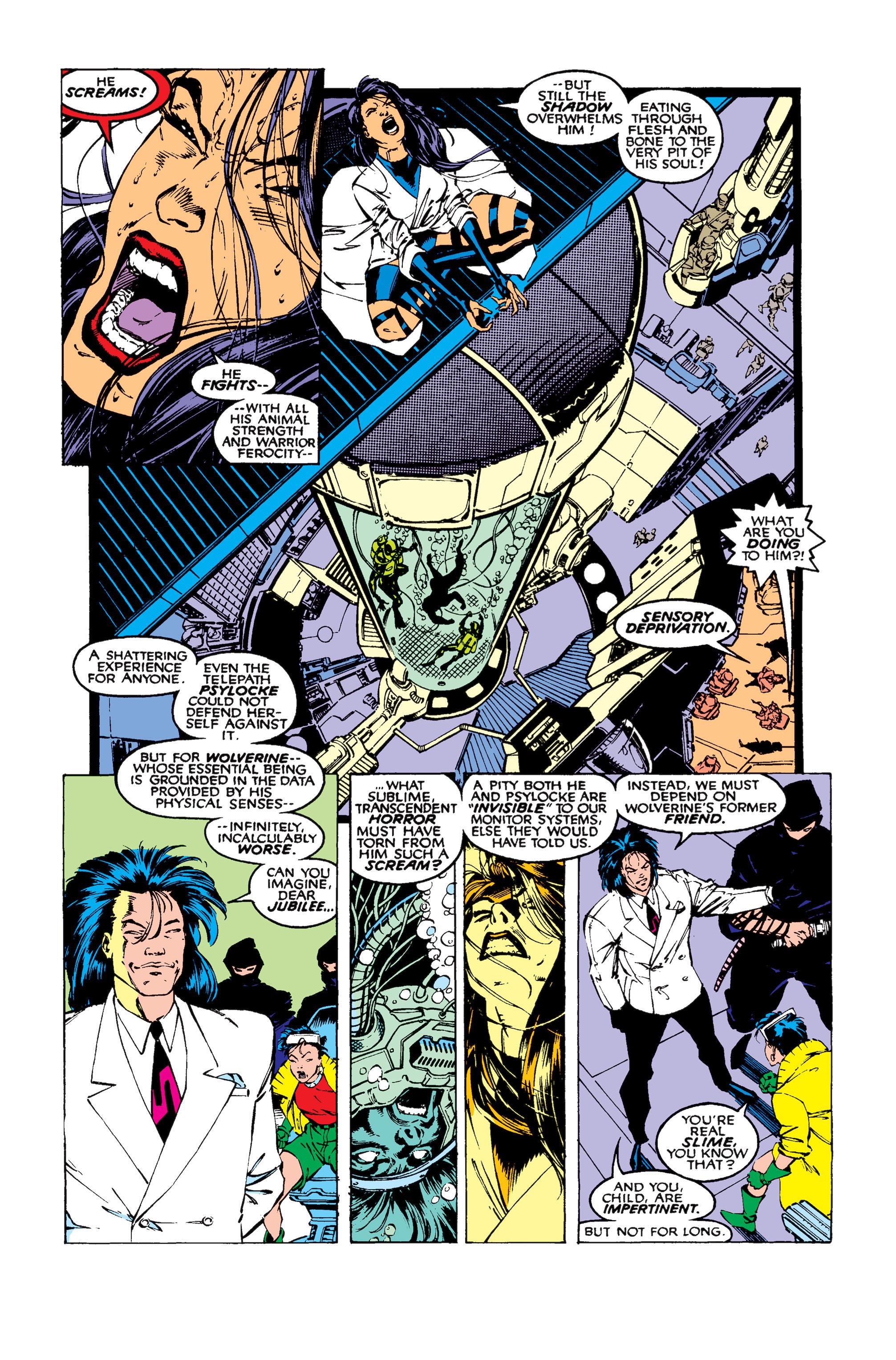 Read online Uncanny X-Men (1963) comic -  Issue #258 - 4