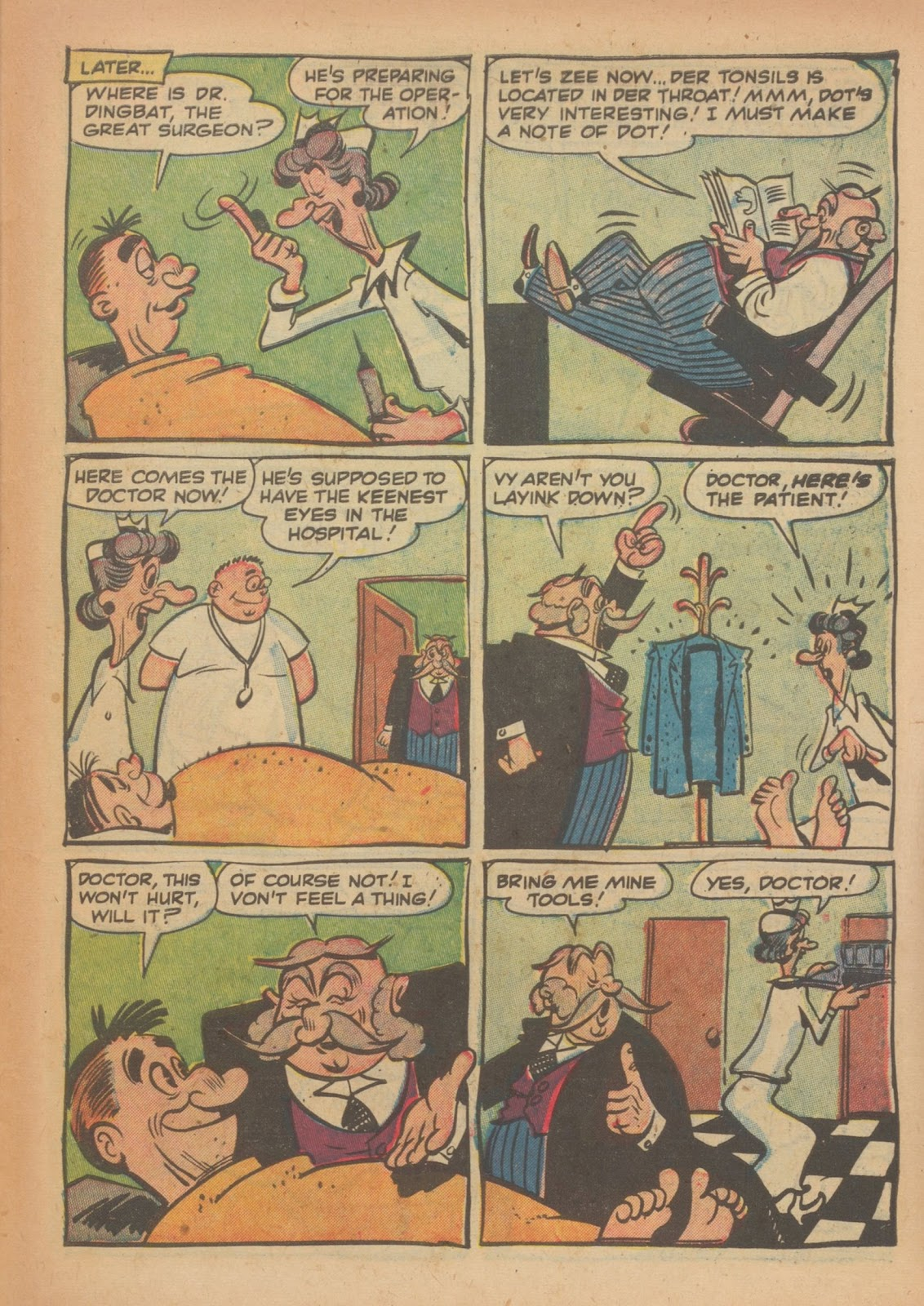 Read online Nellie The Nurse (1945) comic -  Issue #33 - 27