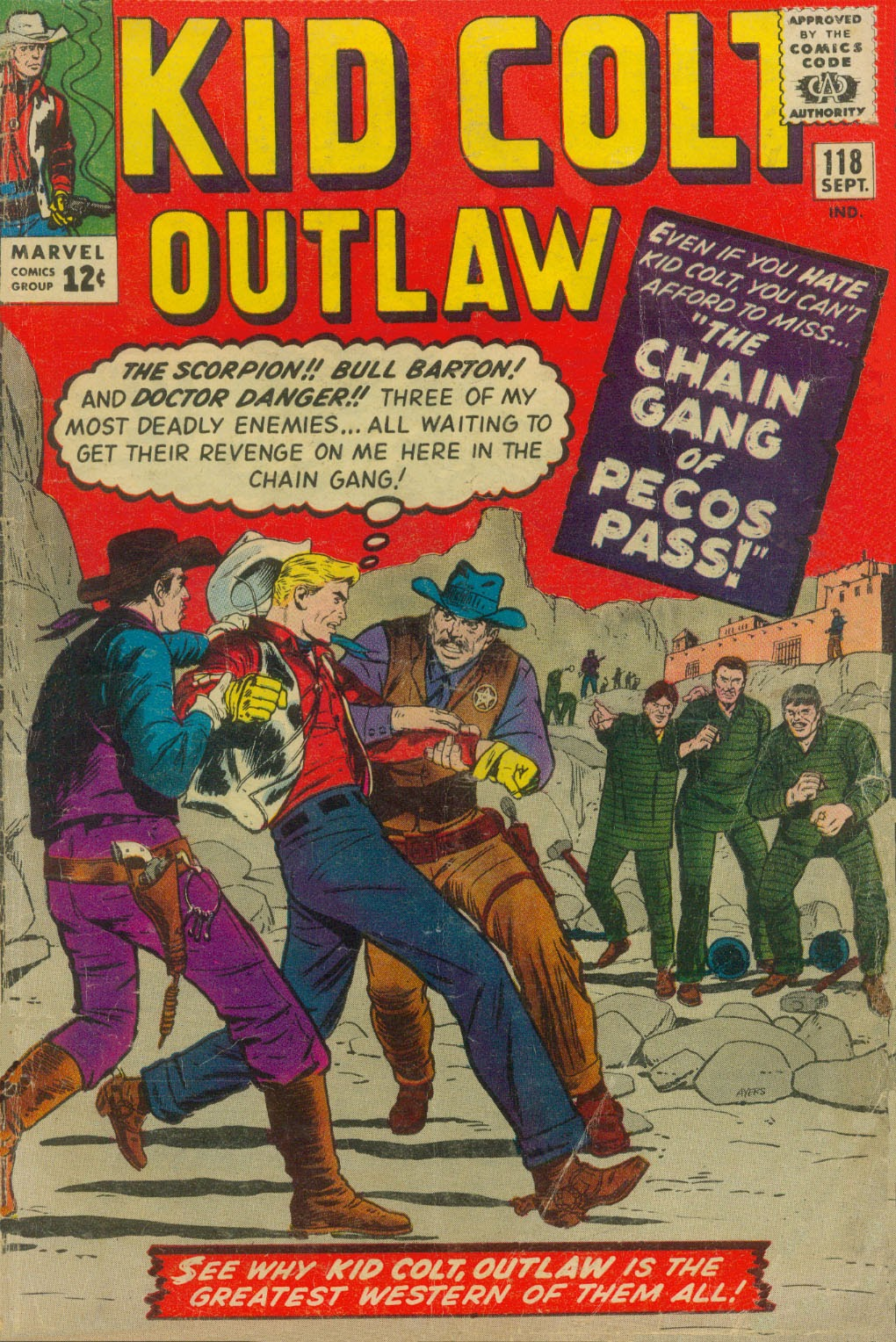 Kid Colt Outlaw issue 118 - Page 1