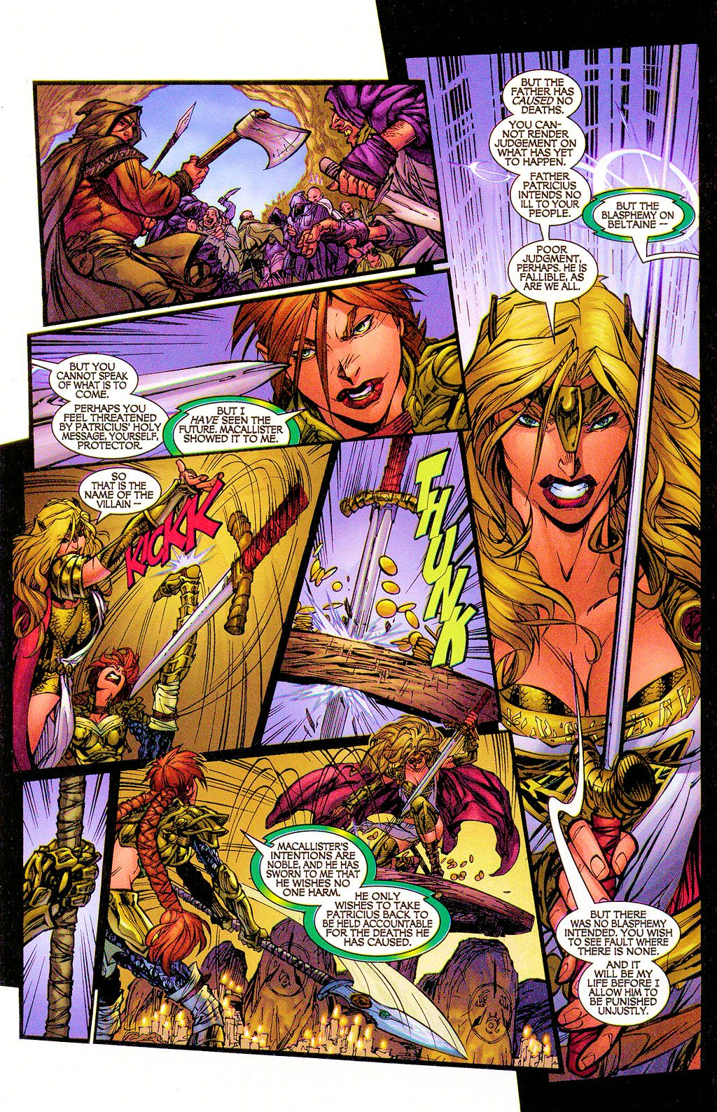 Read online Lady Pendragon / More Than Mortal comic -  Issue #1 - 10