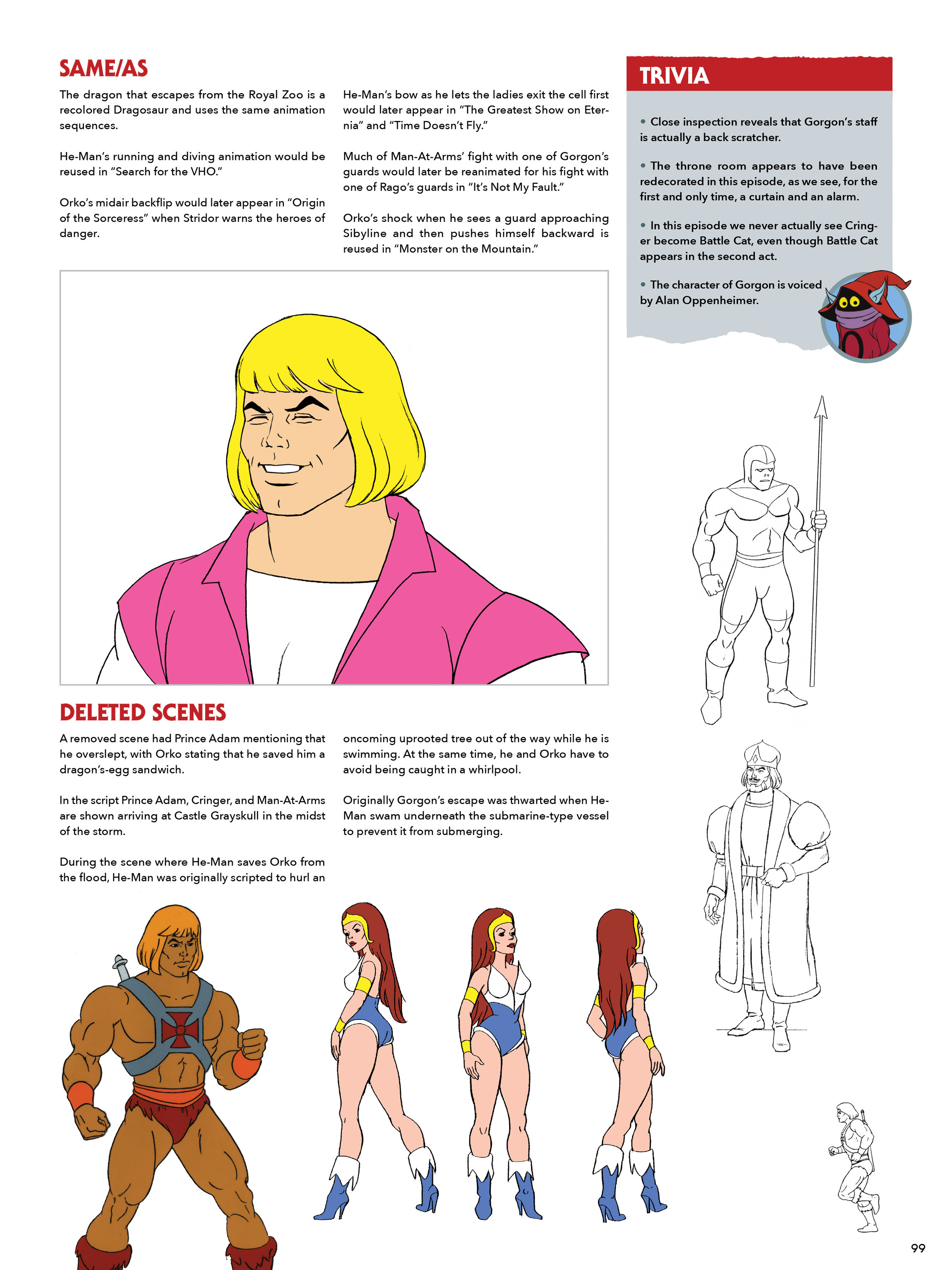 Read online He-Man and She-Ra: A Complete Guide to the Classic Animated Adventures comic -  Issue # TPB (Part 1) - 99