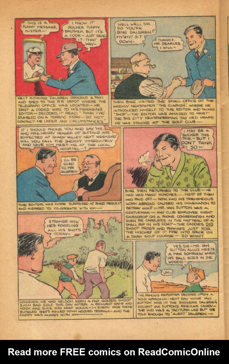 Read online Super-Magician Comics comic -  Issue #54 - 39