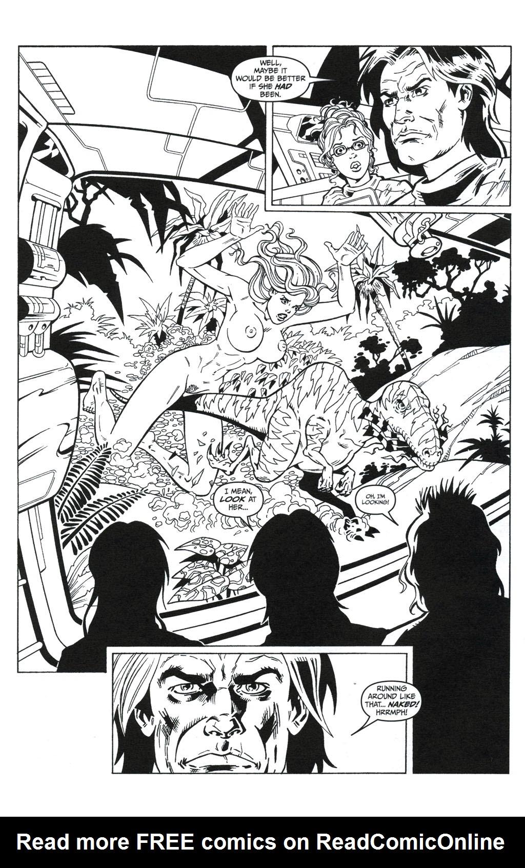 Read online Jungle Fantasy (2002) comic -  Issue #5 - 10