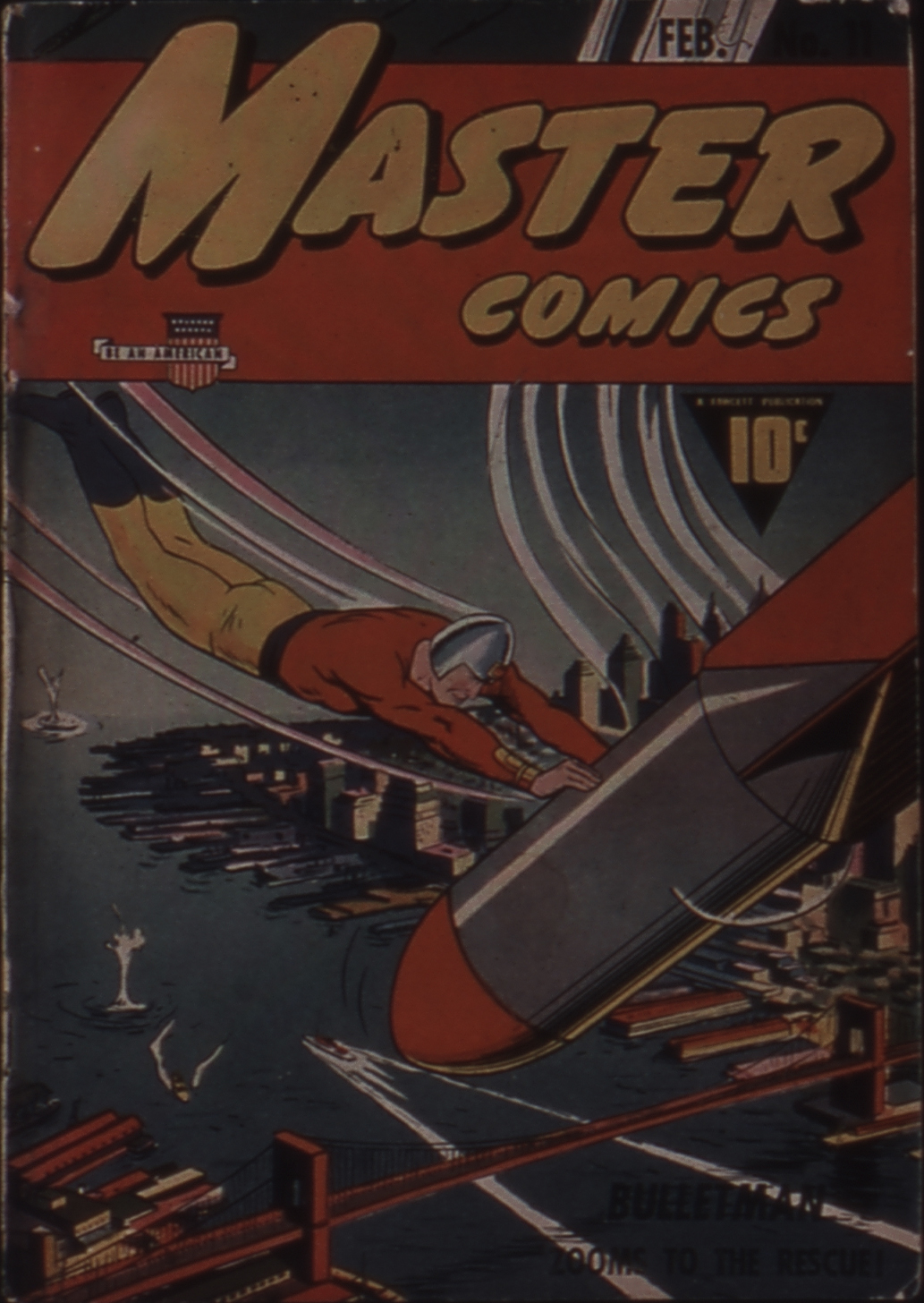 Master Comics 11 Page 1