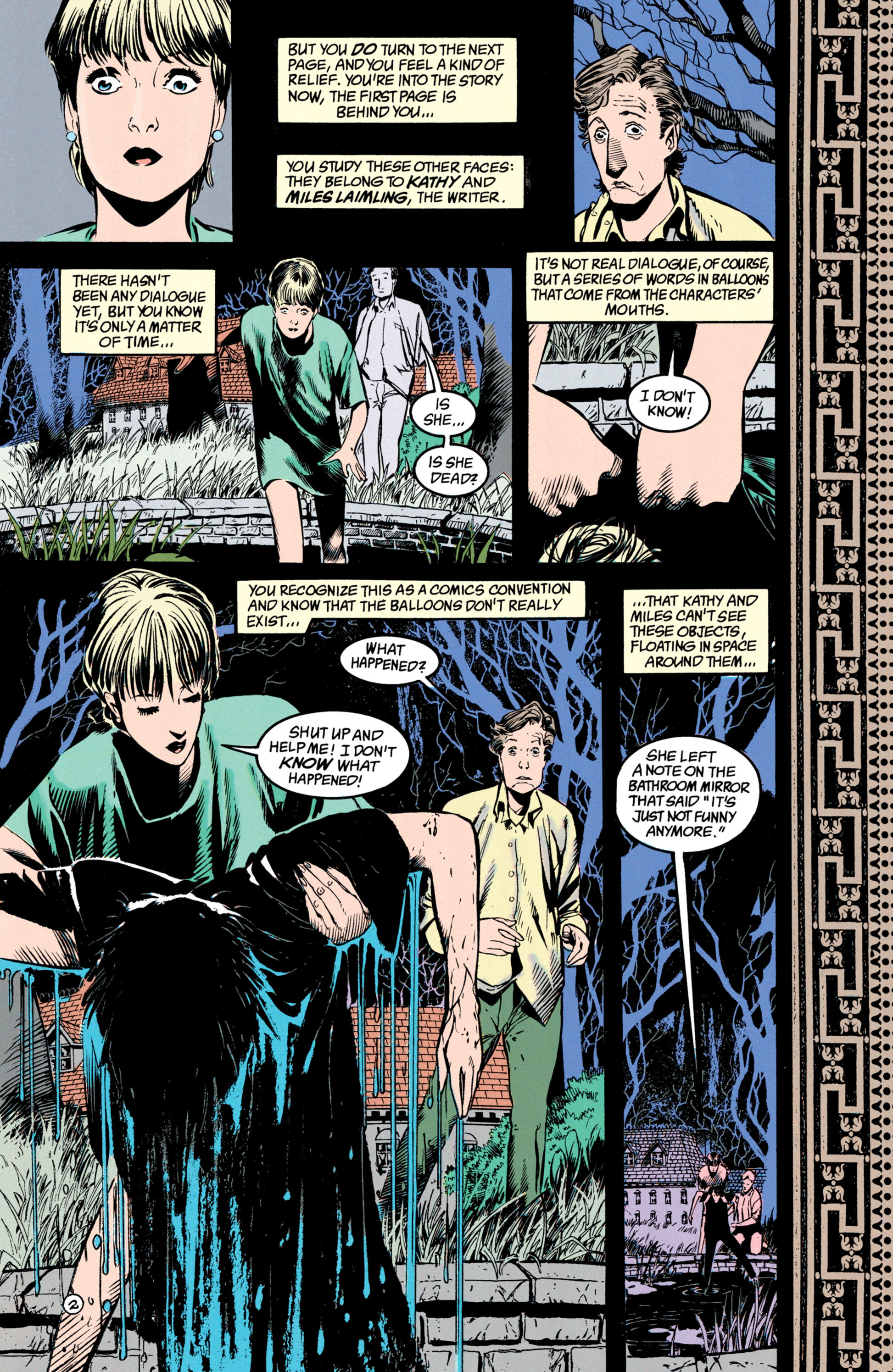 Read online Shade, the Changing Man comic -  Issue #39 - 3