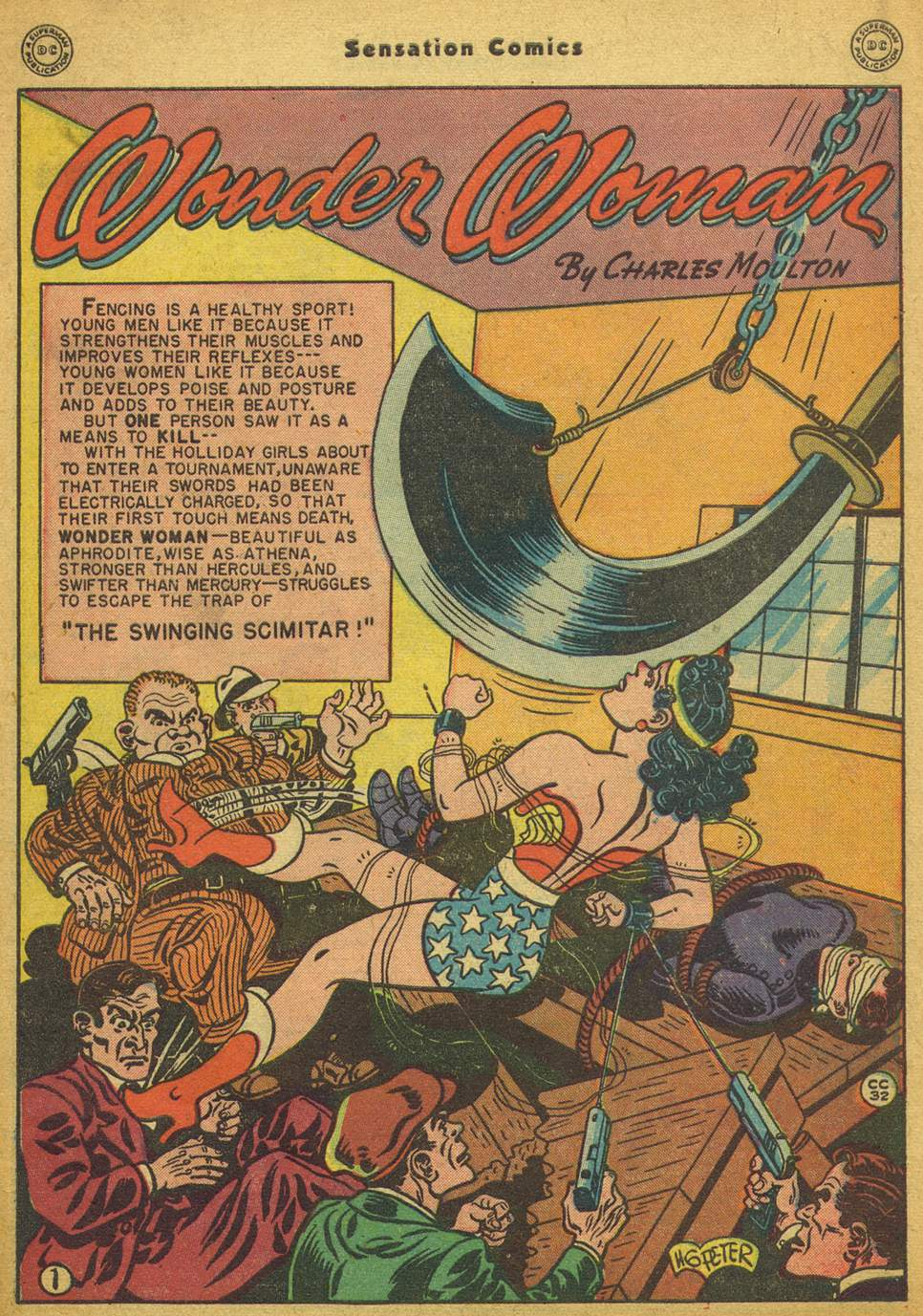 Read online Sensation (Mystery) Comics comic -  Issue #80 - 2