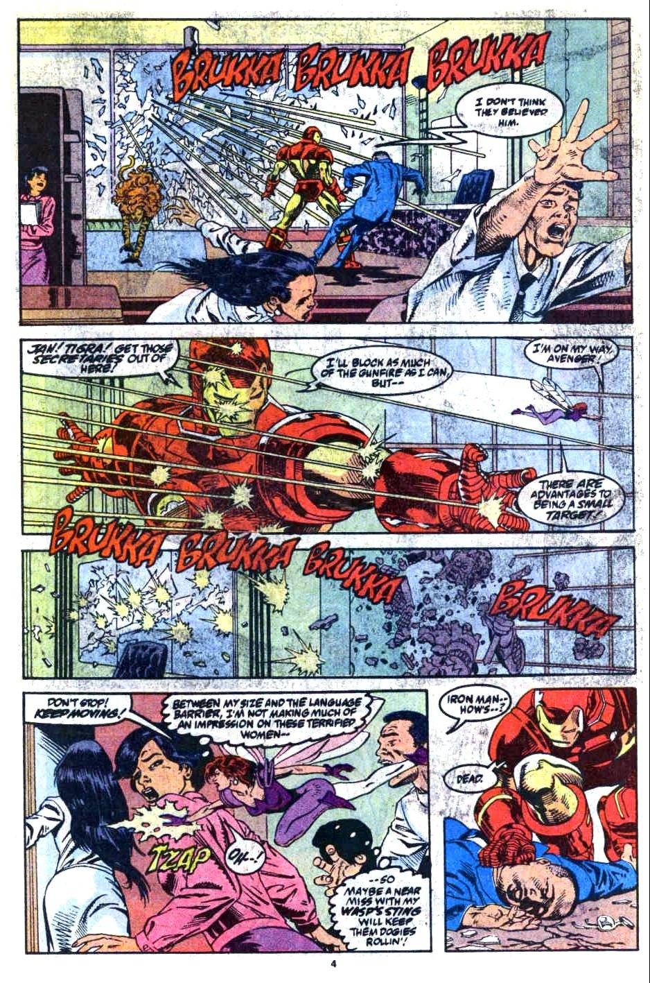 Avengers West Coast 1989 Issue 72 | Viewcomic reading comics online