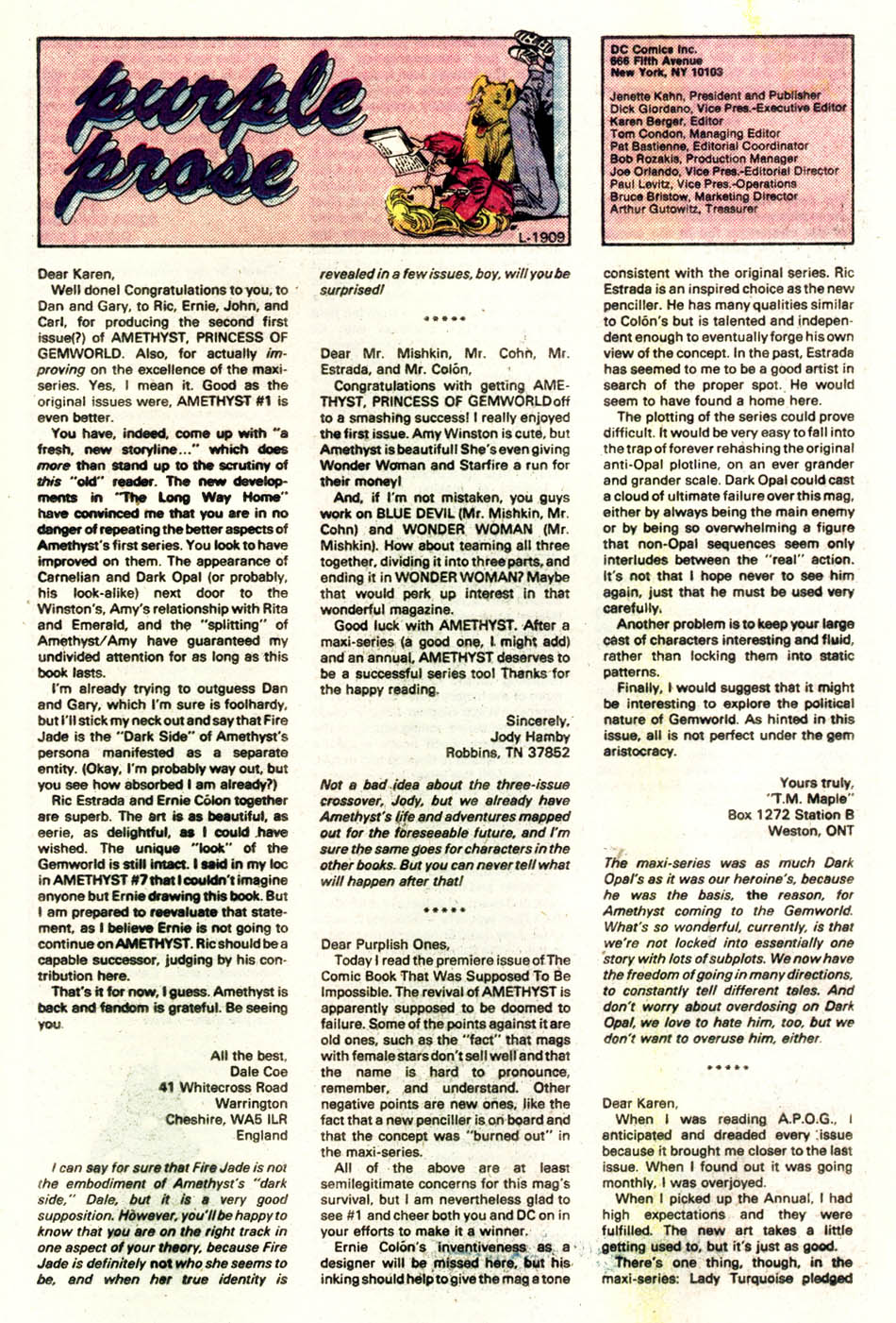 Read online Amethyst (1985) comic -  Issue #4 - 25