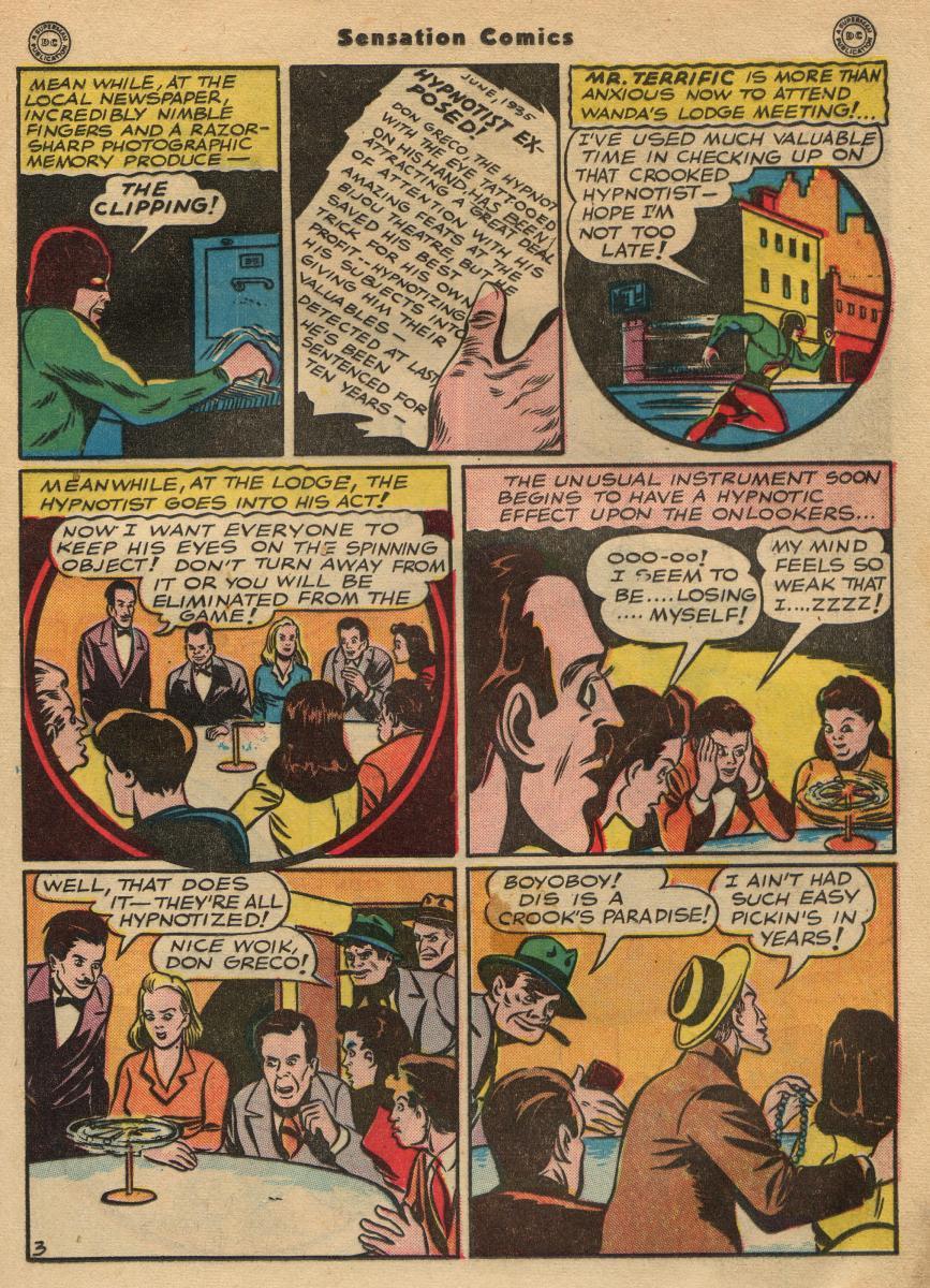 Read online Sensation (Mystery) Comics comic -  Issue #49 - 25