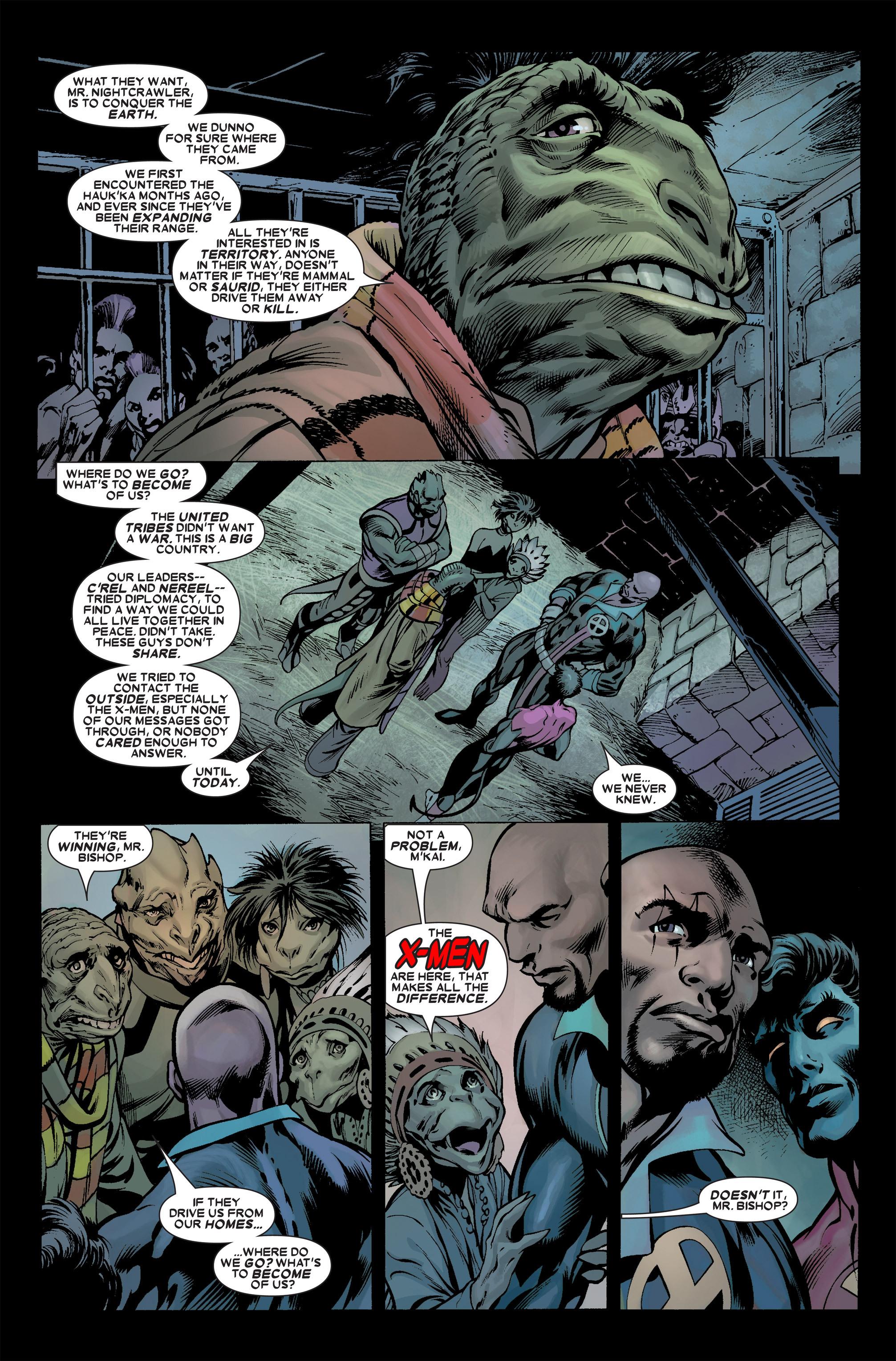 Read online Uncanny X-Men (1963) comic -  Issue #457 - 7