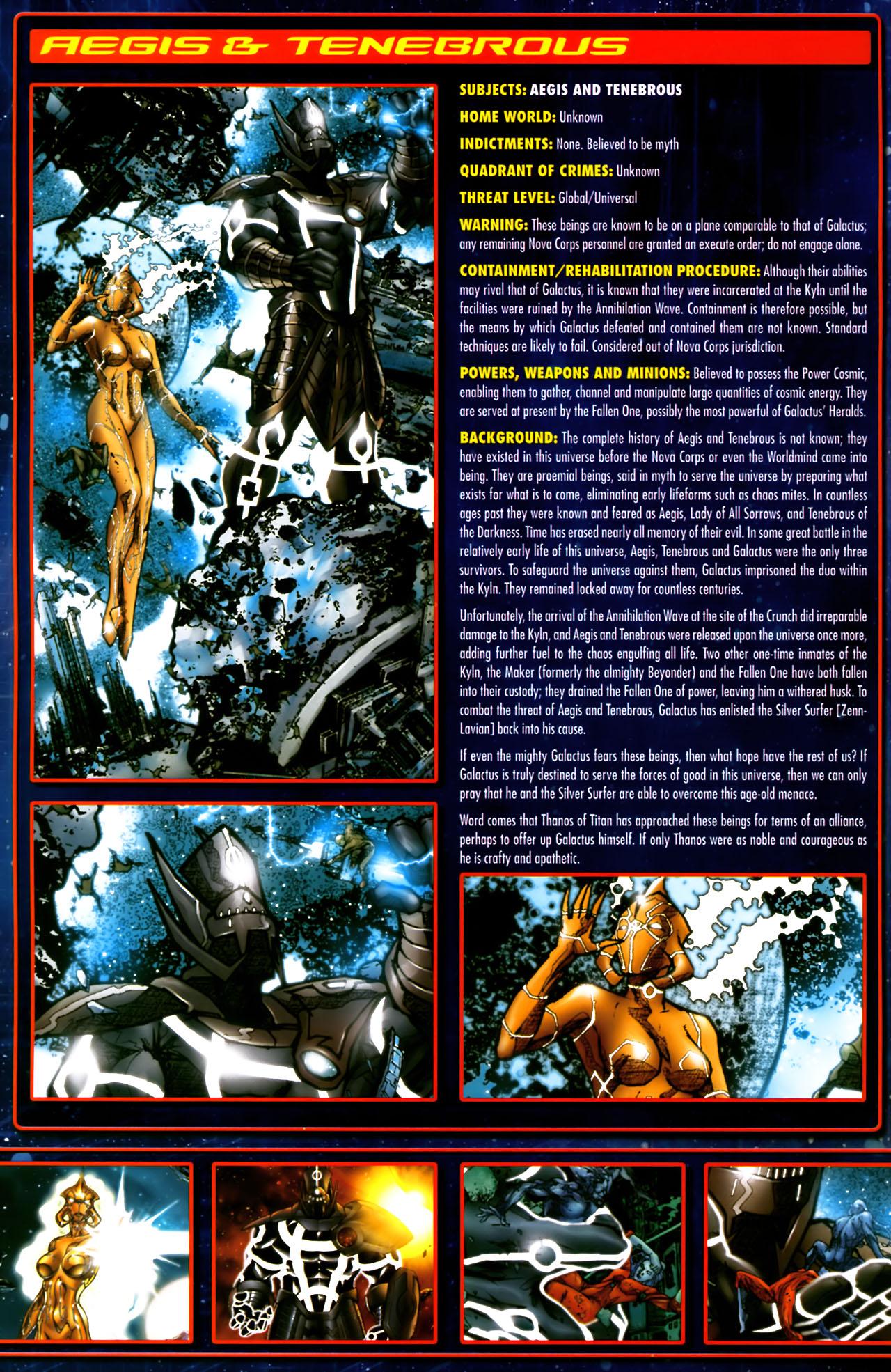Read online Annihilation:  The  Nova Corps Files comic -  Issue #Annihilation:  The  Nova Corps Files Full - 4