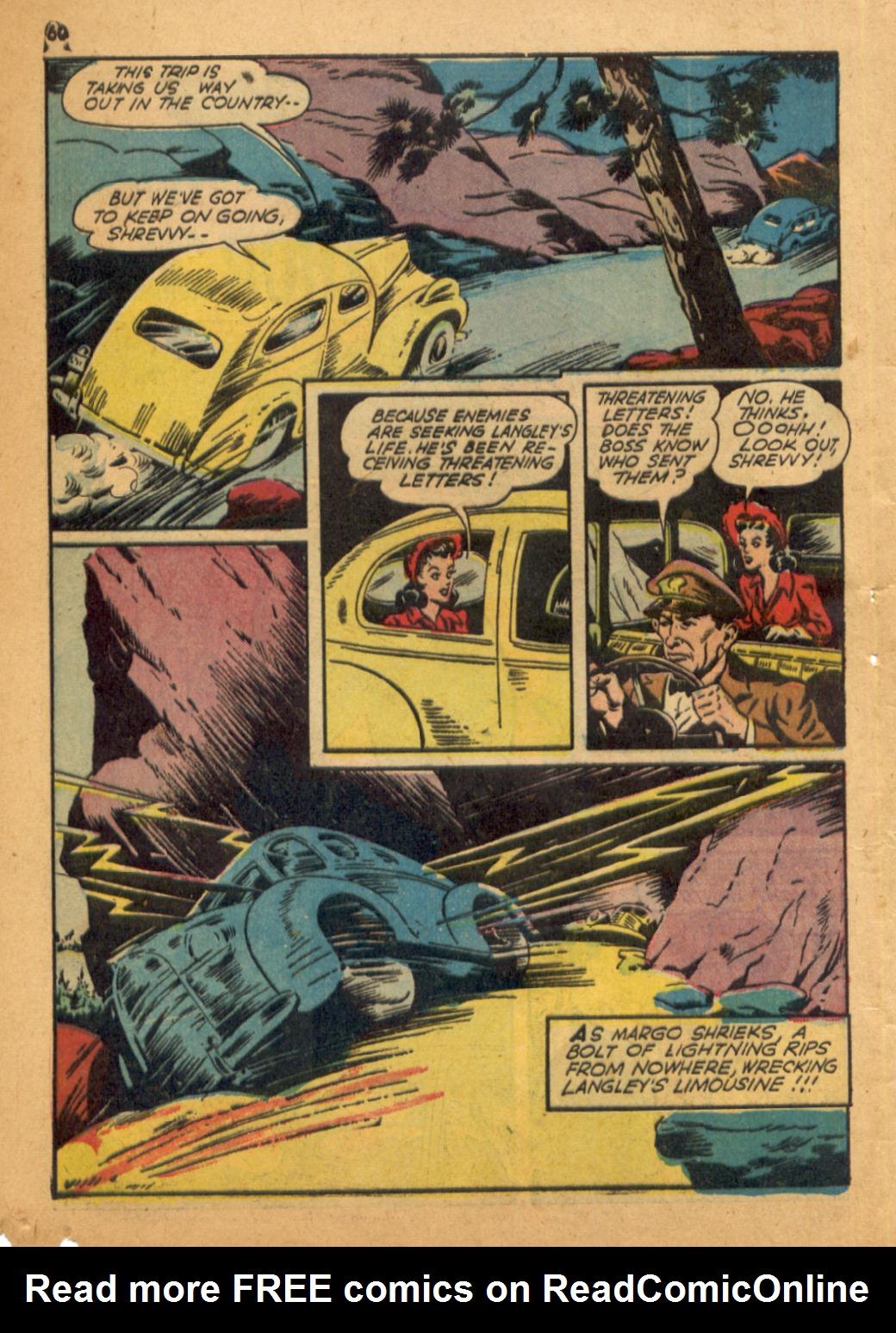 Read online Shadow Comics comic -  Issue #32 - 61