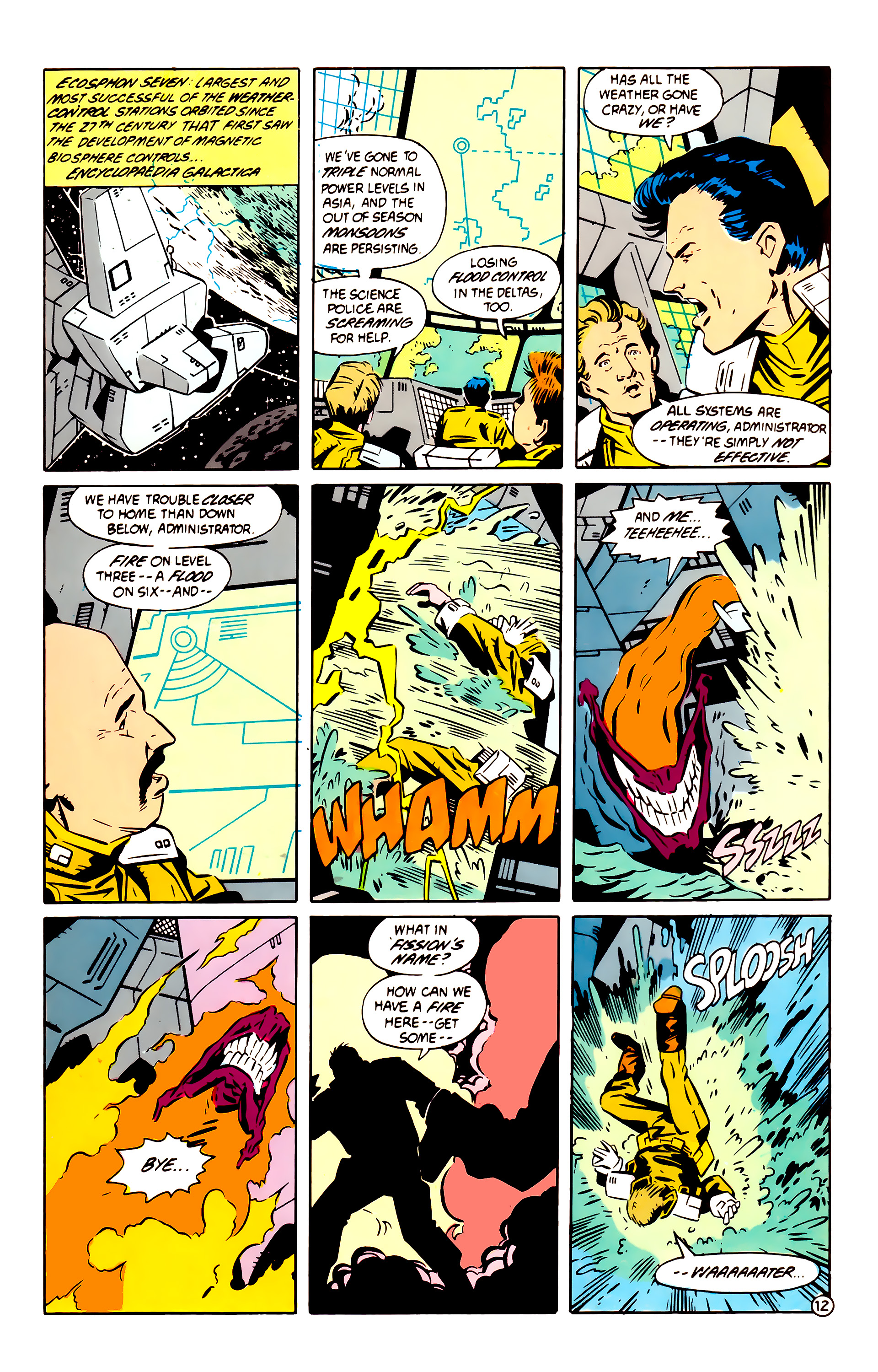 Legion of Super-Heroes (1984) 60 Page 12
