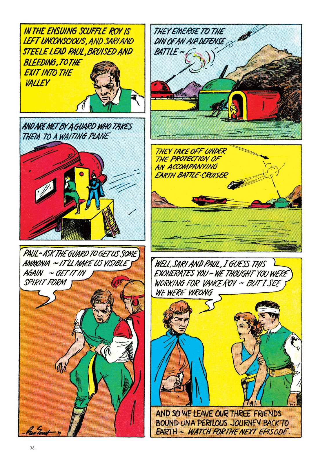 Read online The Bill Everett Archives comic -  Issue # TPB 2 (Part 1) - 37