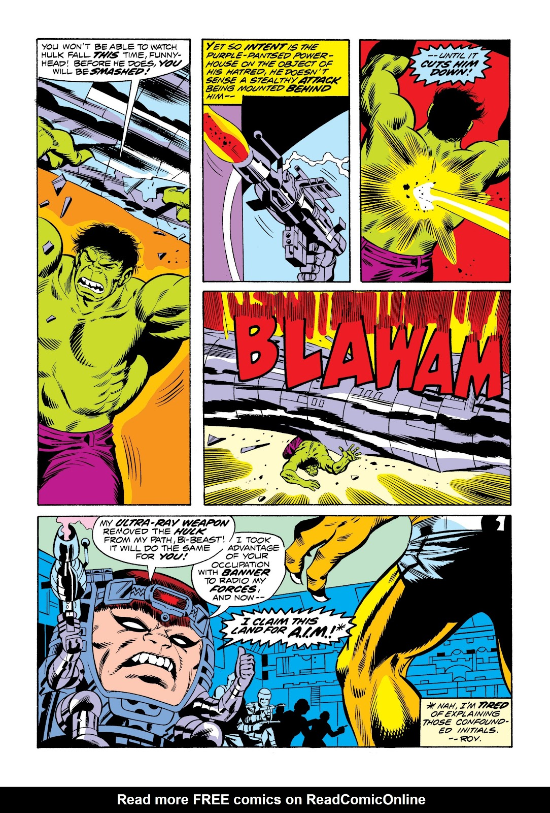 Read online Marvel Masterworks: The Incredible Hulk comic -  Issue # TPB 9 (Part 3) - 73