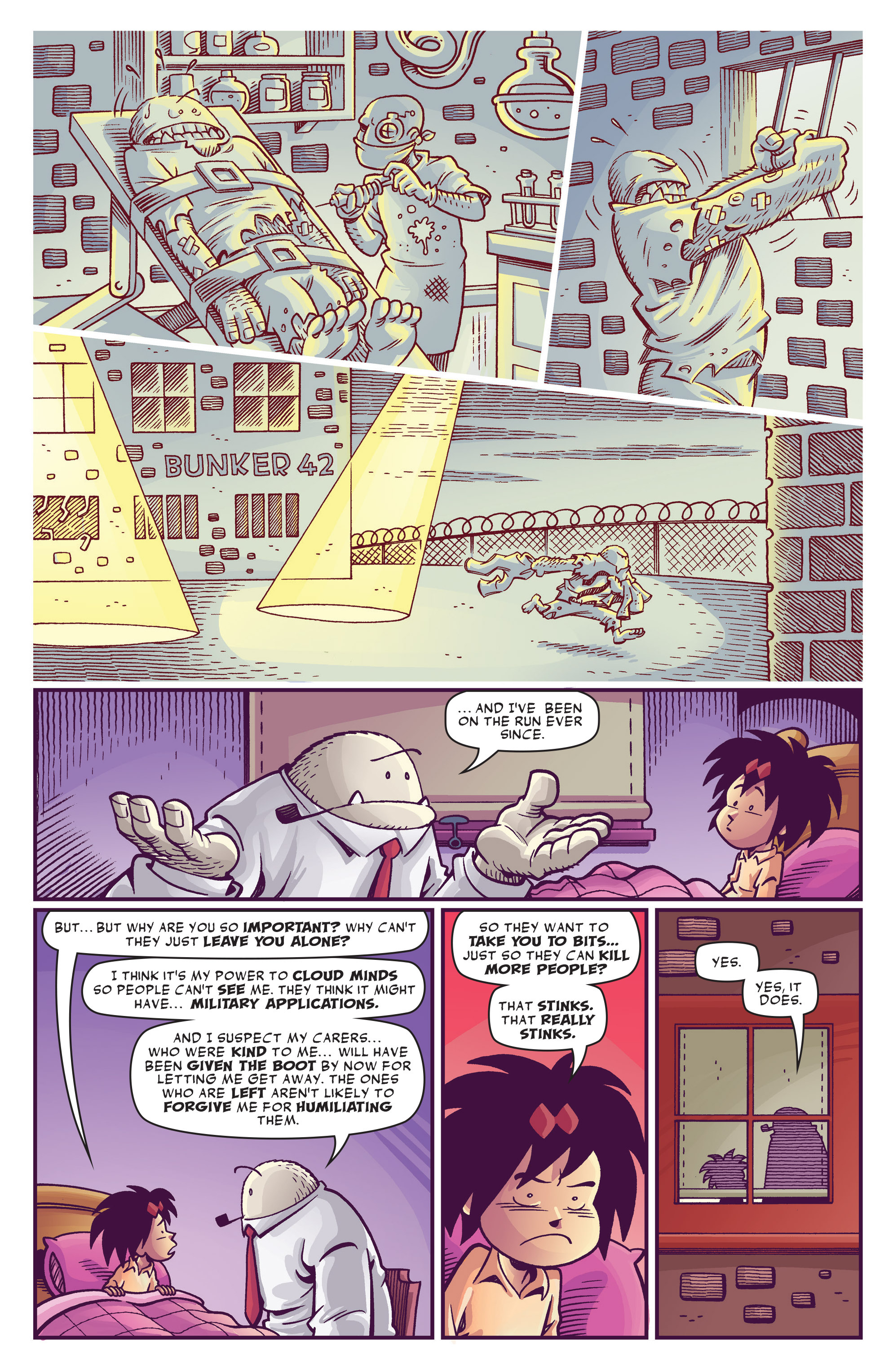 Read online Abigail And The Snowman comic -  Issue #3 - 8