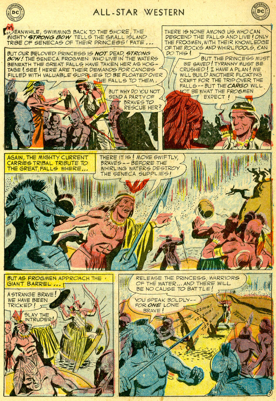 Read online All-Star Western (1951) comic -  Issue #68 - 13