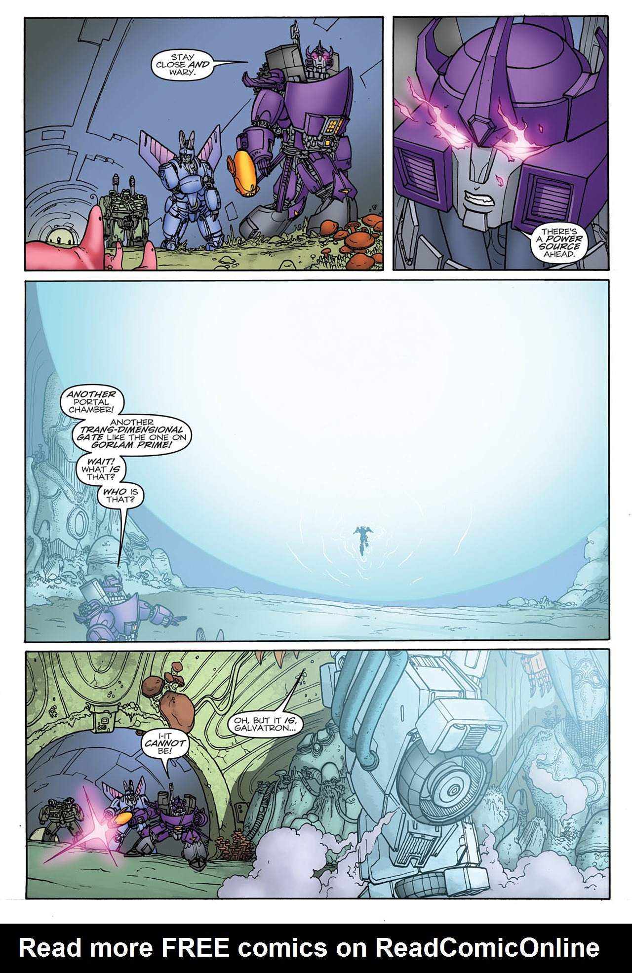 Read online Transformers: Heart of Darkness comic -  Issue #3 - 22