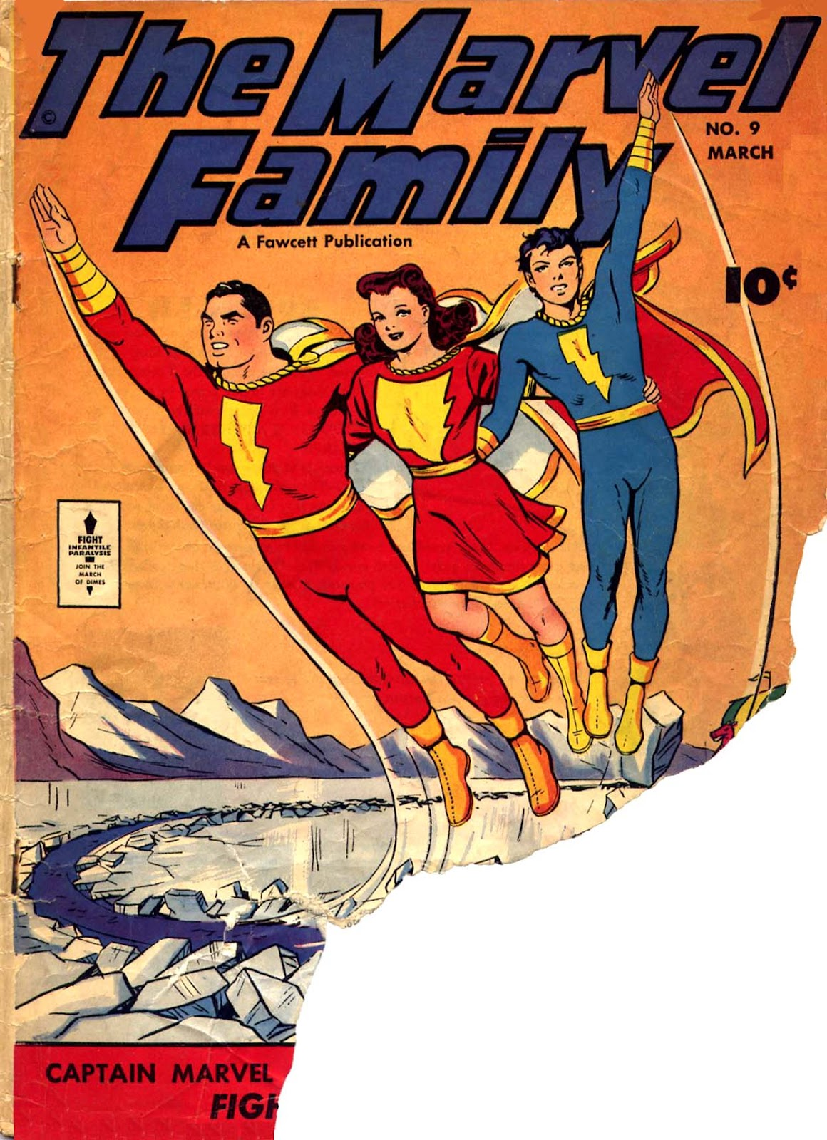 The Marvel Family 9 Page 1
