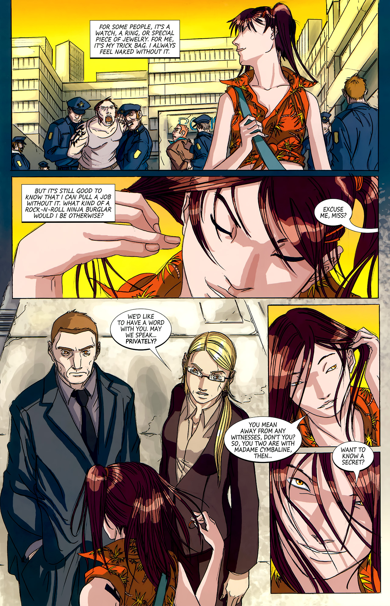 Read online Hexed comic -  Issue #4 - 15