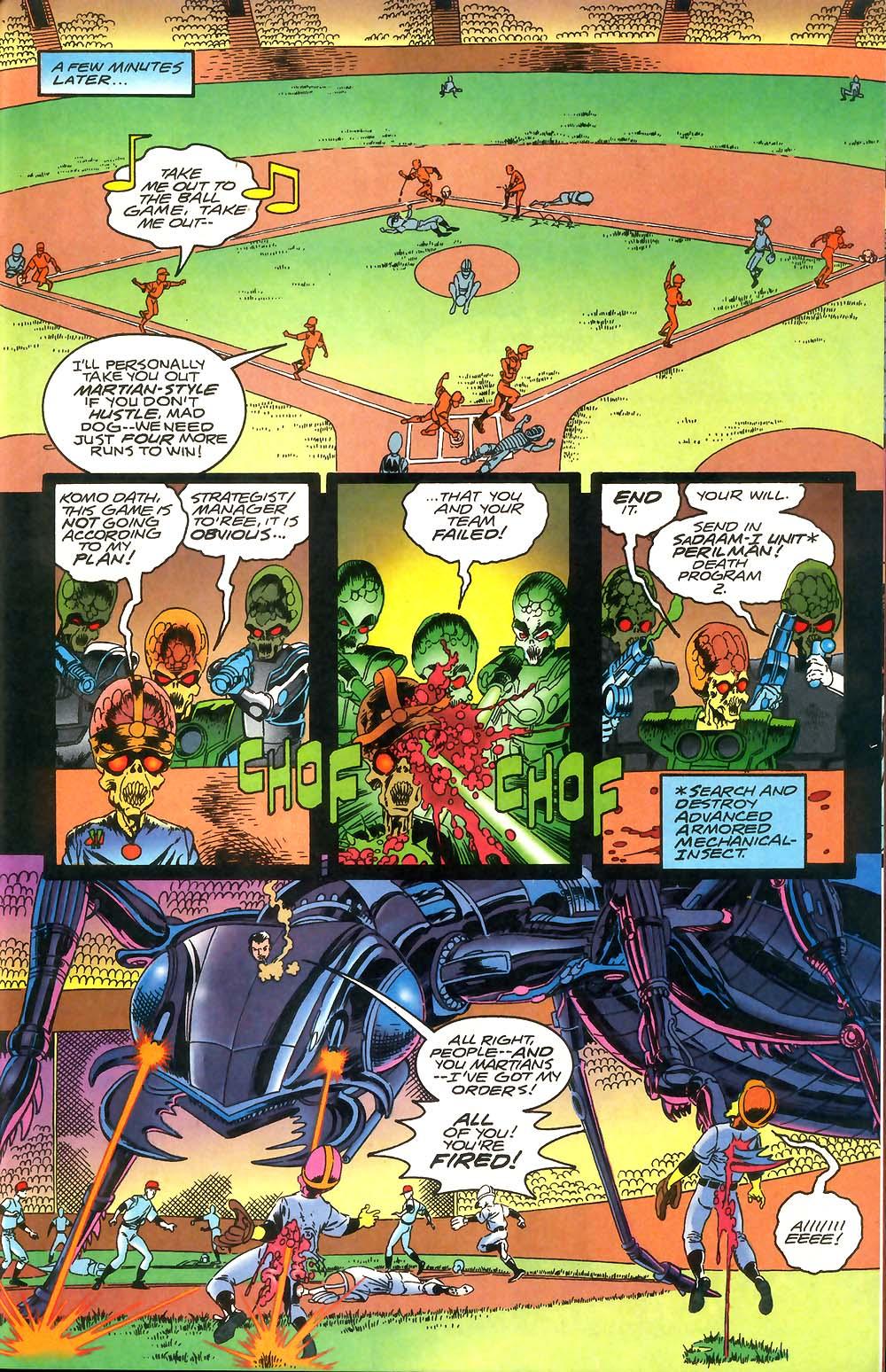 Read online Mars Attacks Baseball Special comic -  Issue # Full - 21