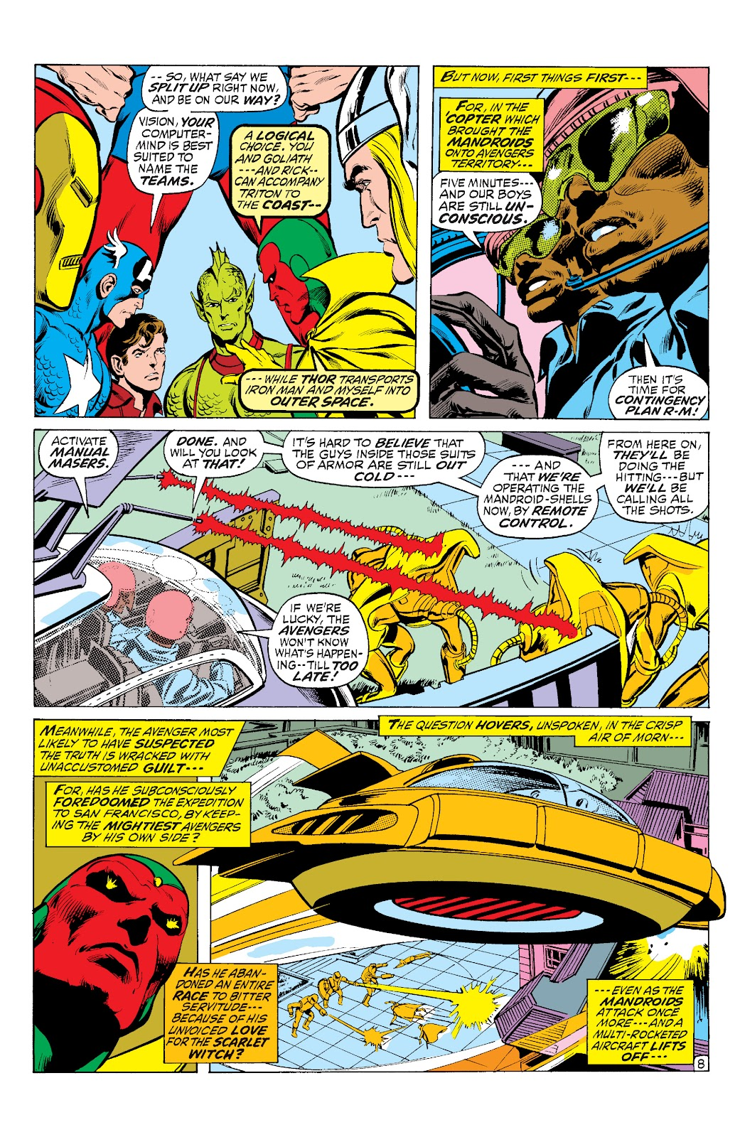 Read online Marvel Masterworks: The Inhumans comic -  Issue # TPB 1 (Part 3) - 3