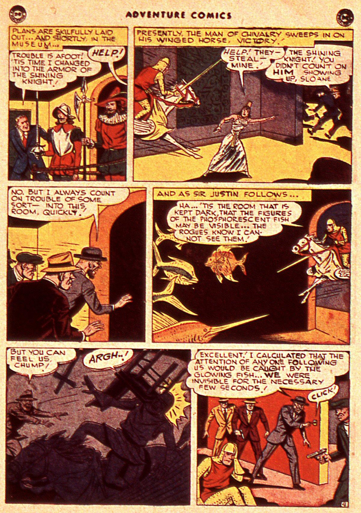 Read online Adventure Comics (1938) comic -  Issue #106 - 35