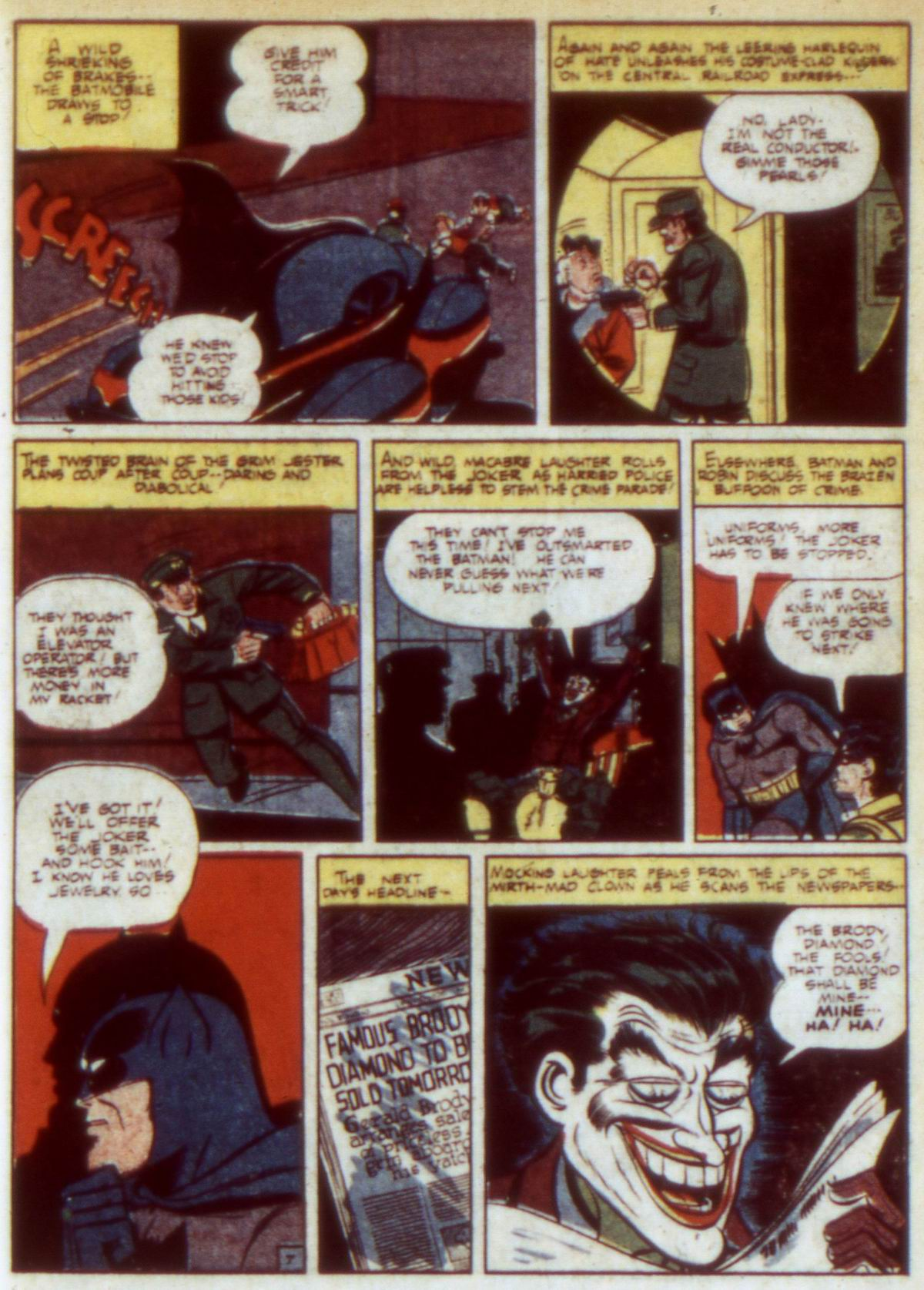 Read online Detective Comics (1937) comic -  Issue #60 - 9