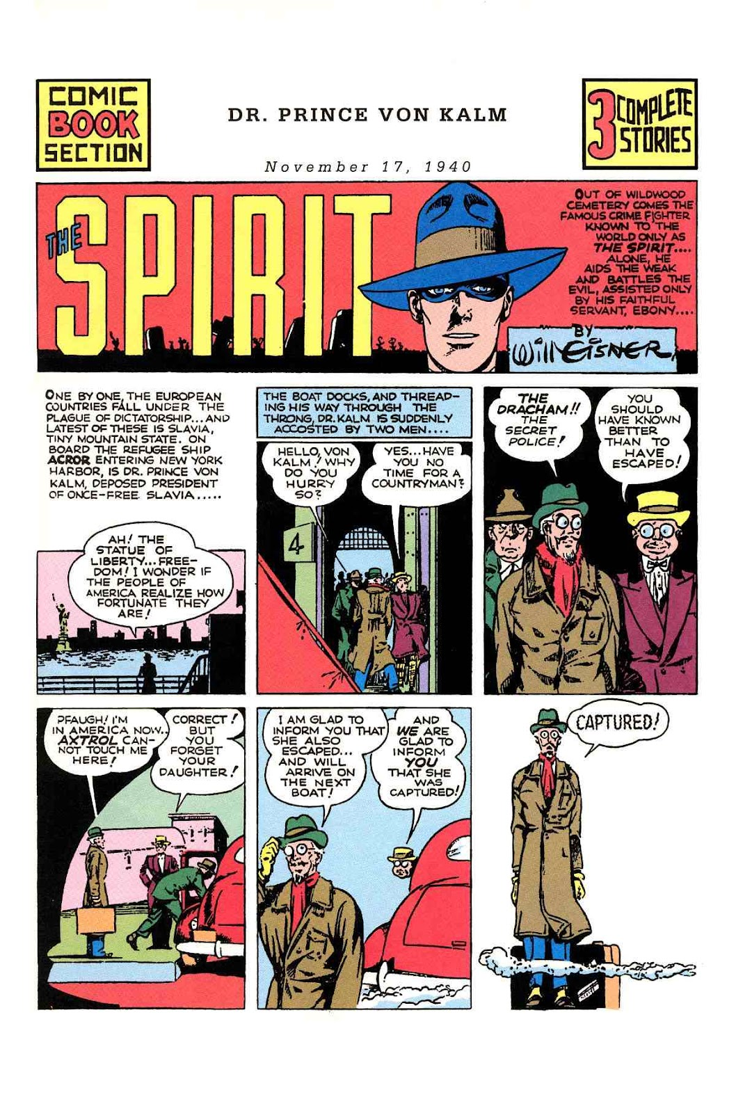 Read online Will Eisner's The Spirit Archives comic -  Issue # TPB 1 (Part 2) - 70
