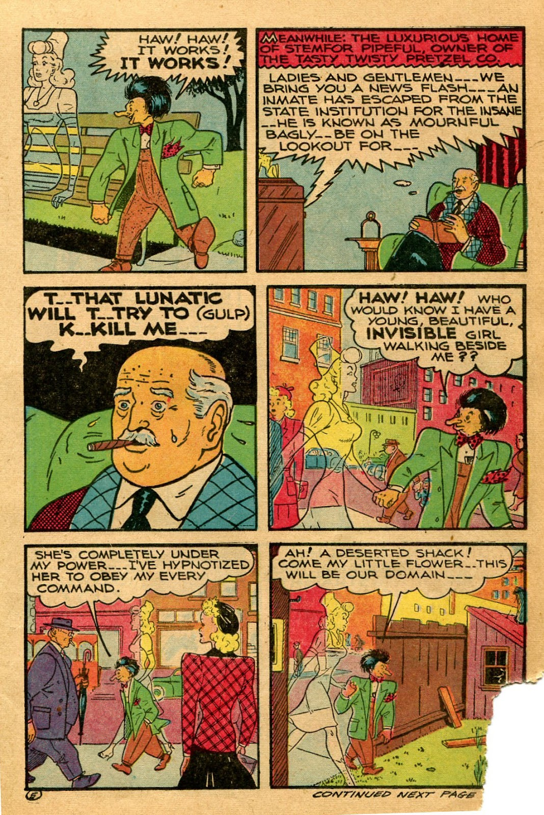 Read online Famous Funnies comic -  Issue #127 - 17