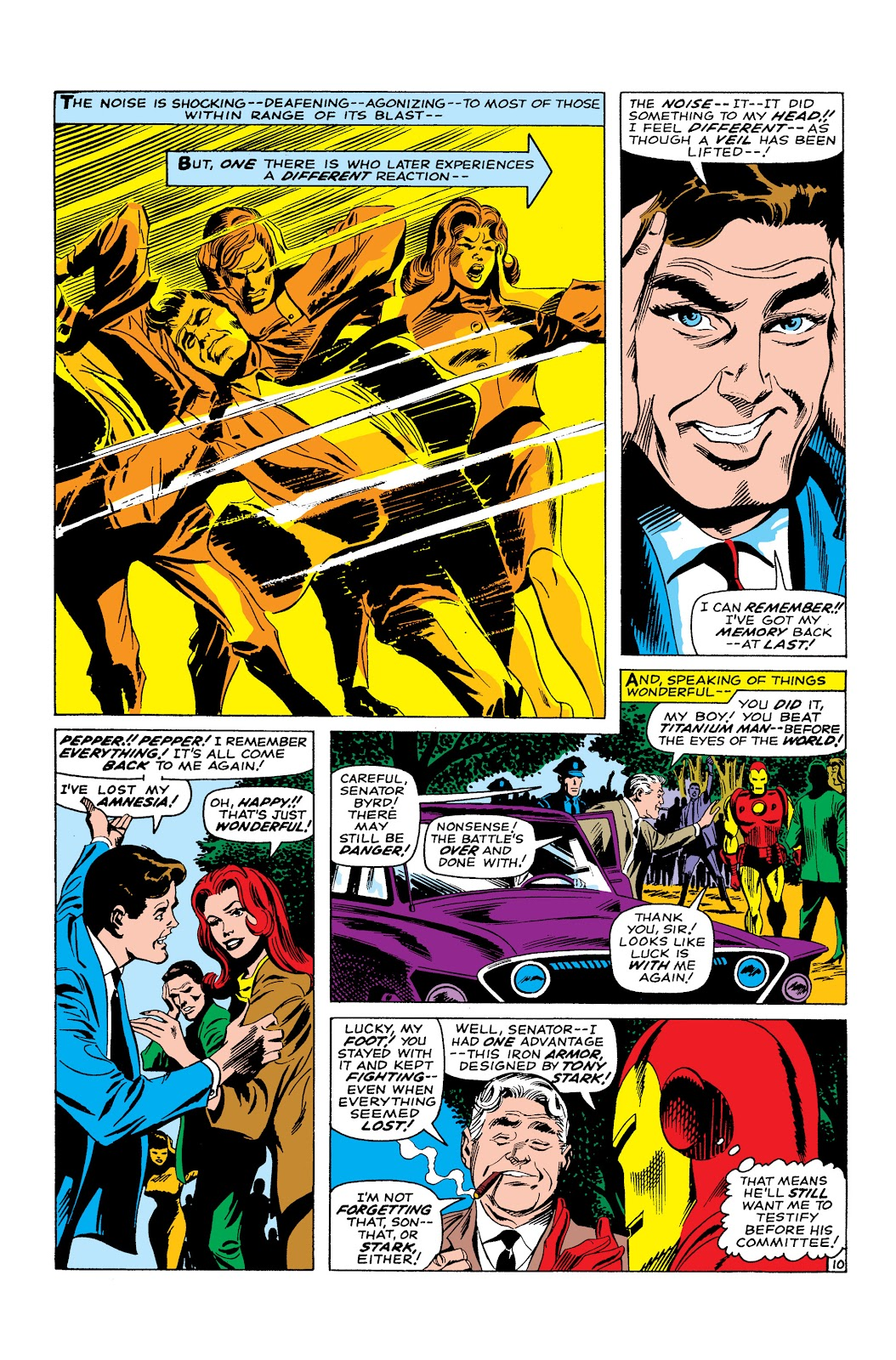 Read online Marvel Masterworks: The Invincible Iron Man comic -  Issue # TPB 3 (Part 5) - 4