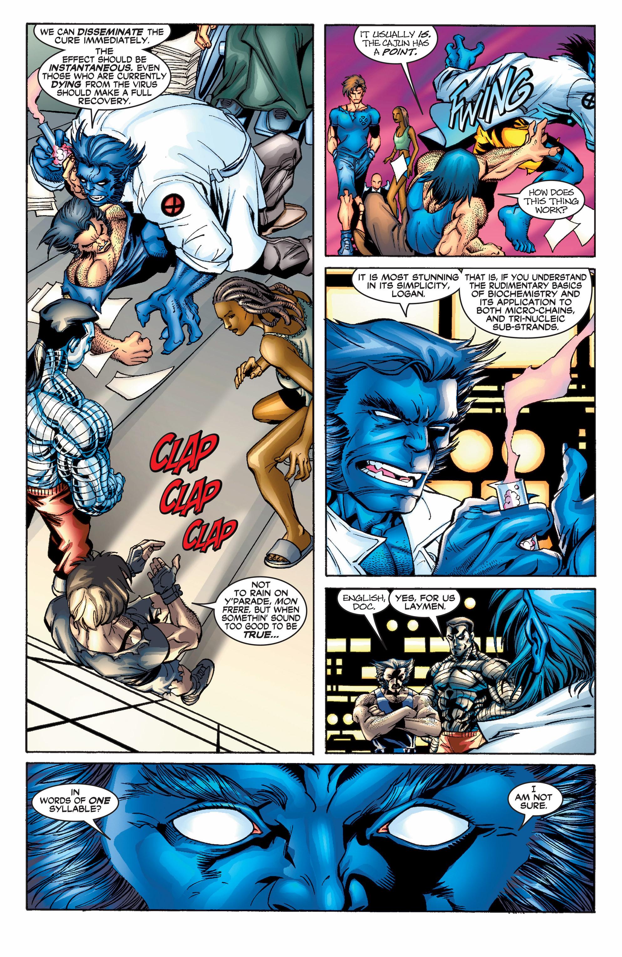 Read online Uncanny X-Men (1963) comic -  Issue #390 - 7