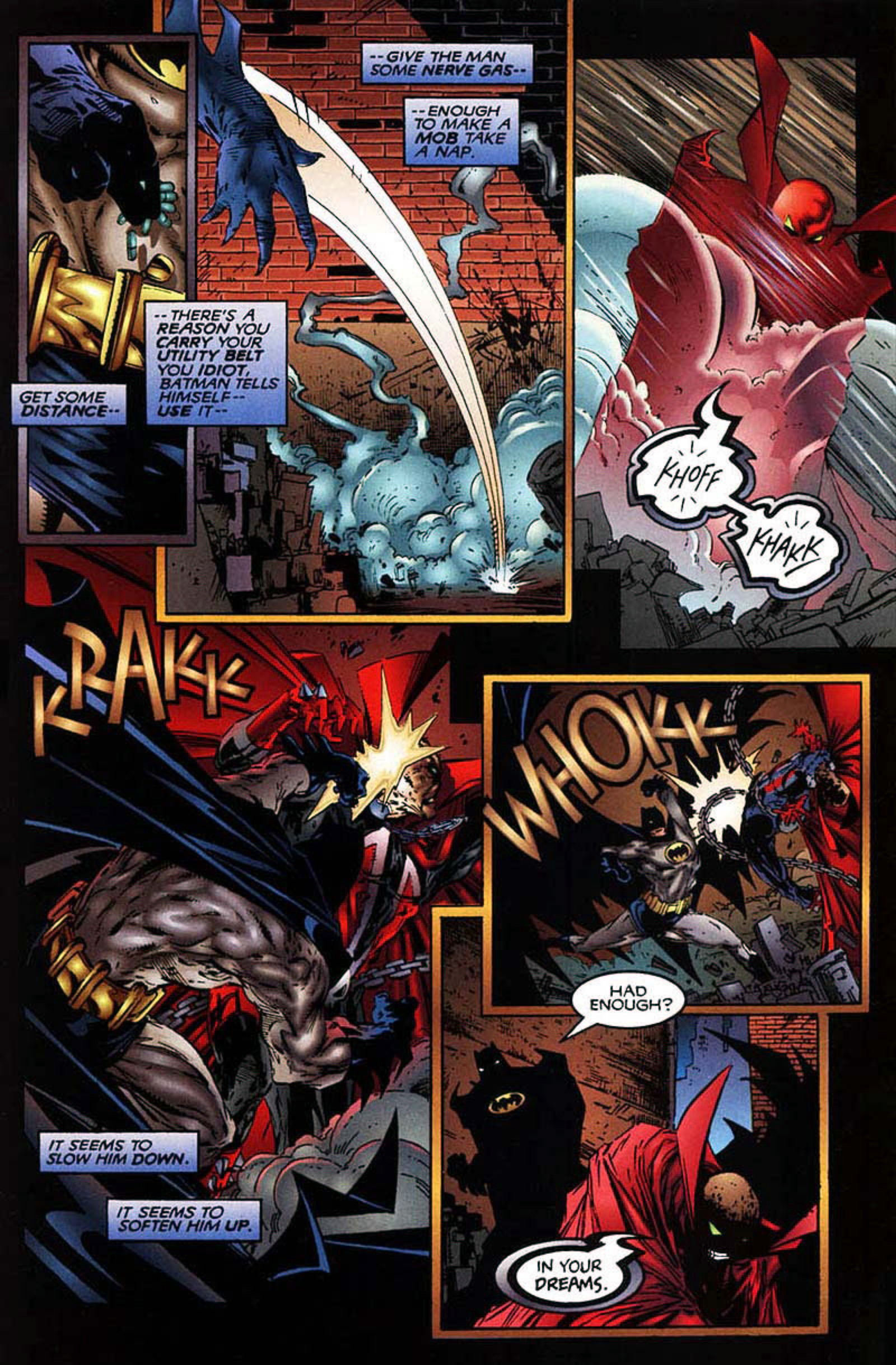 Read online Spawn-Batman comic -  Issue # Full - 21