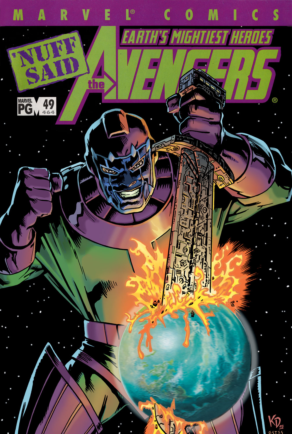 Read online Avengers (1998) comic -  Issue #49 - 1