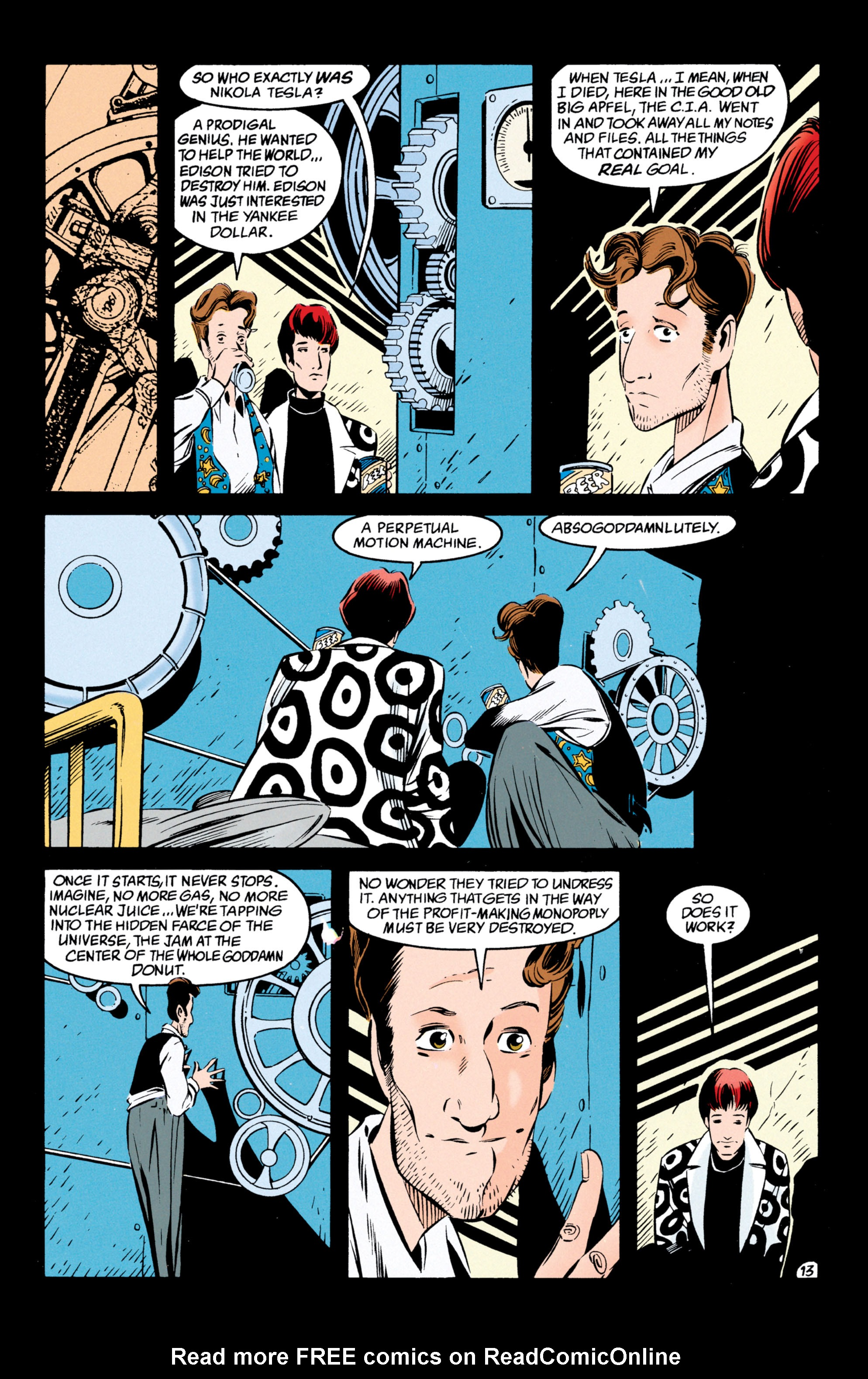 Read online Shade, the Changing Man comic -  Issue #54 - 14