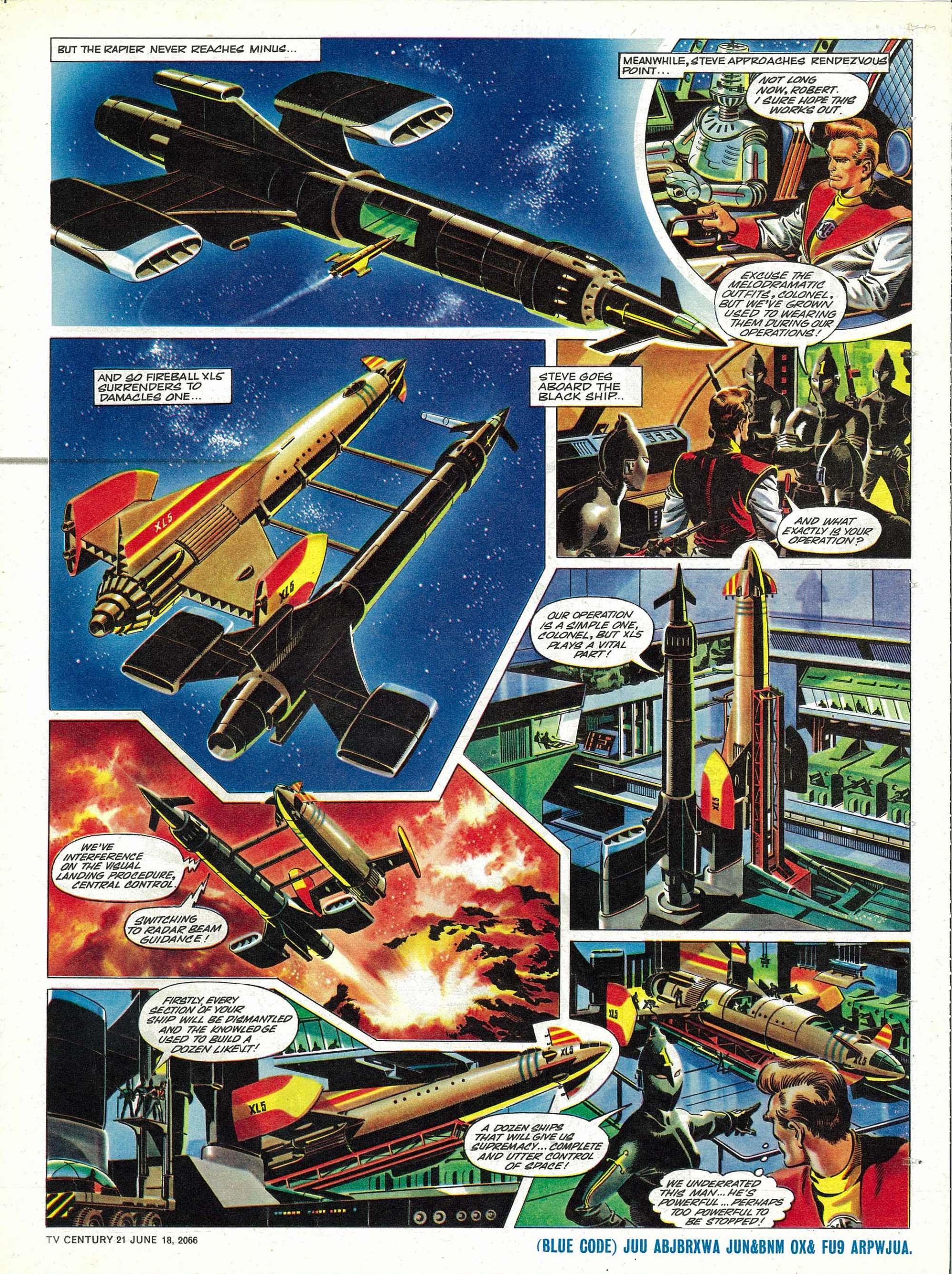 Read online TV Century 21 (TV 21) comic -  Issue #74 - 16