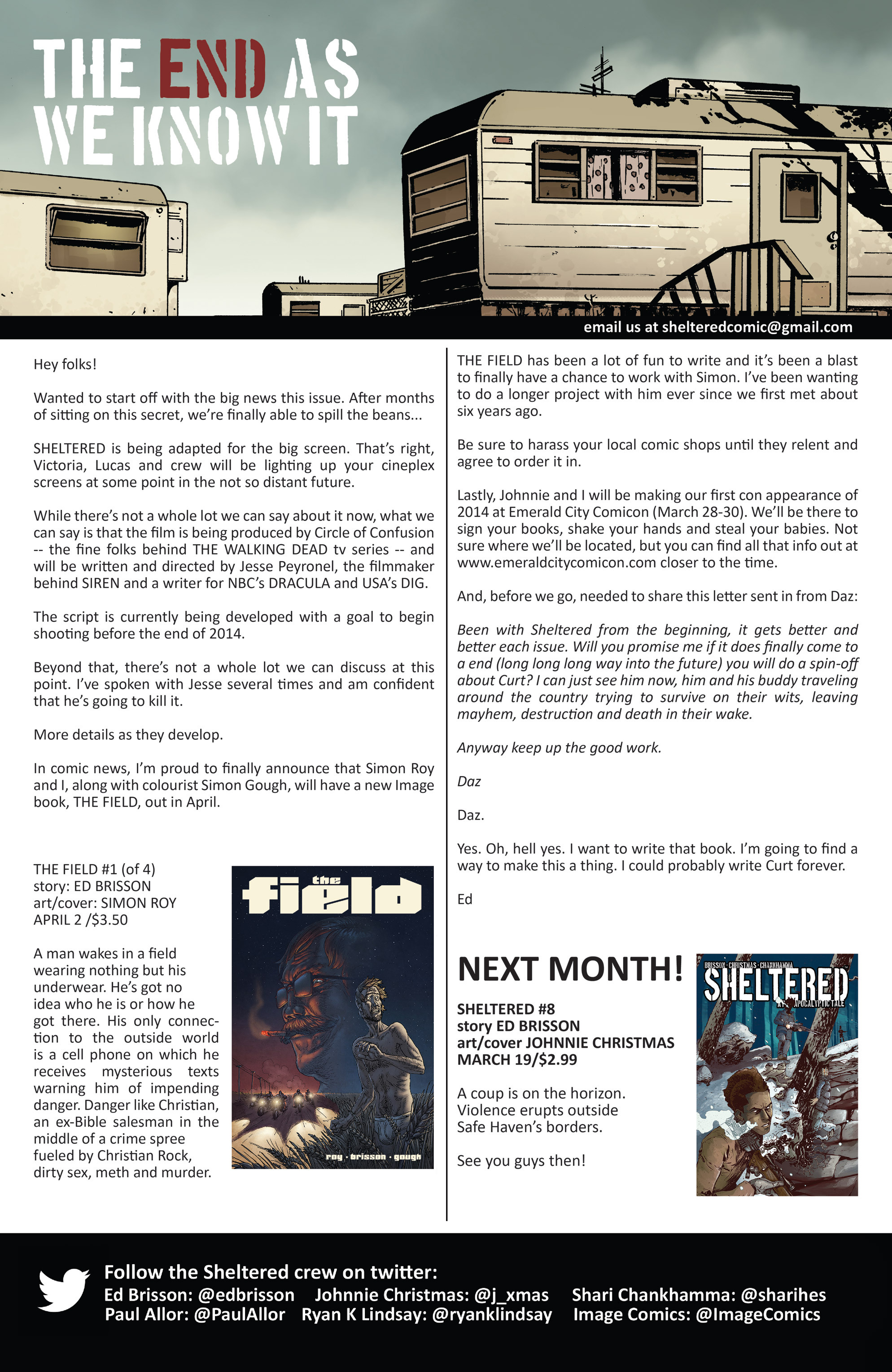 Read online Sheltered comic -  Issue #7 - 24