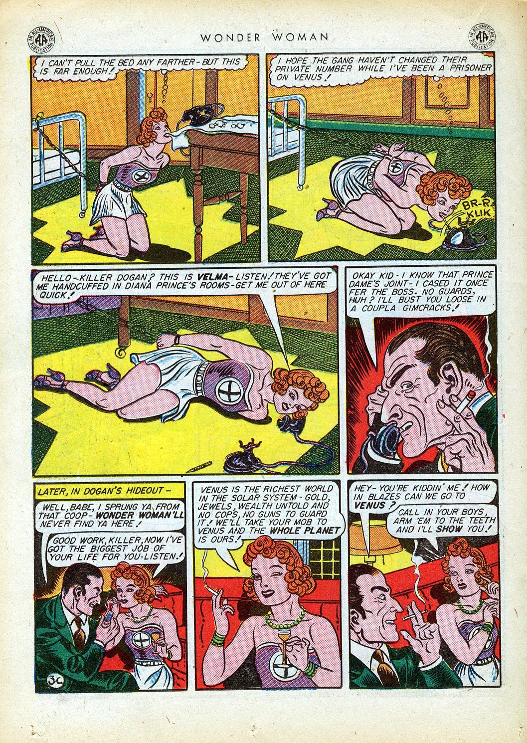 Read online Wonder Woman (1942) comic -  Issue #12 - 36