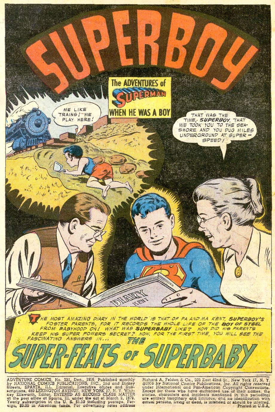 Read online Adventure Comics (1938) comic -  Issue #231 - 4