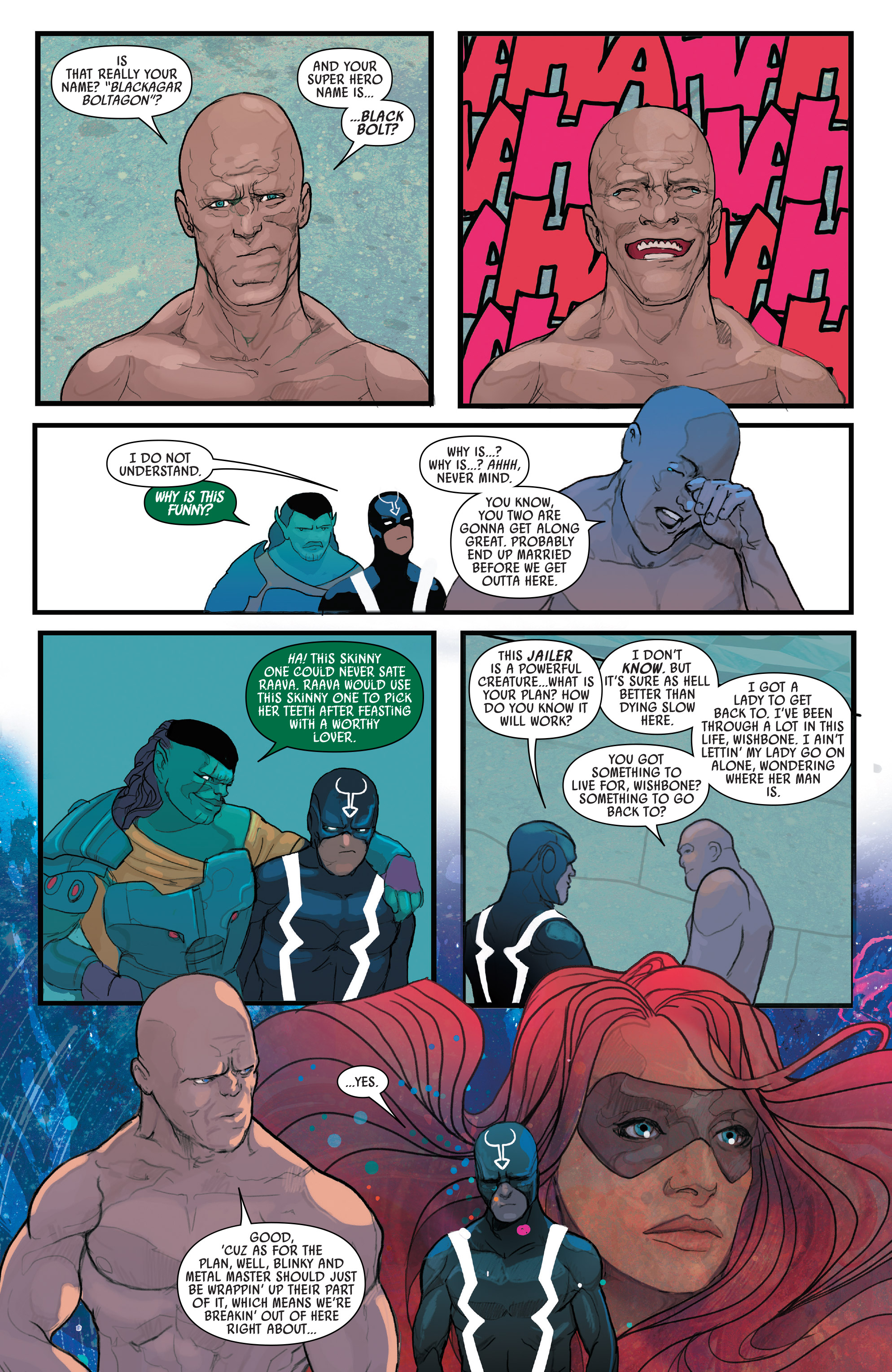 Read online Black Bolt comic -  Issue #2 - 21