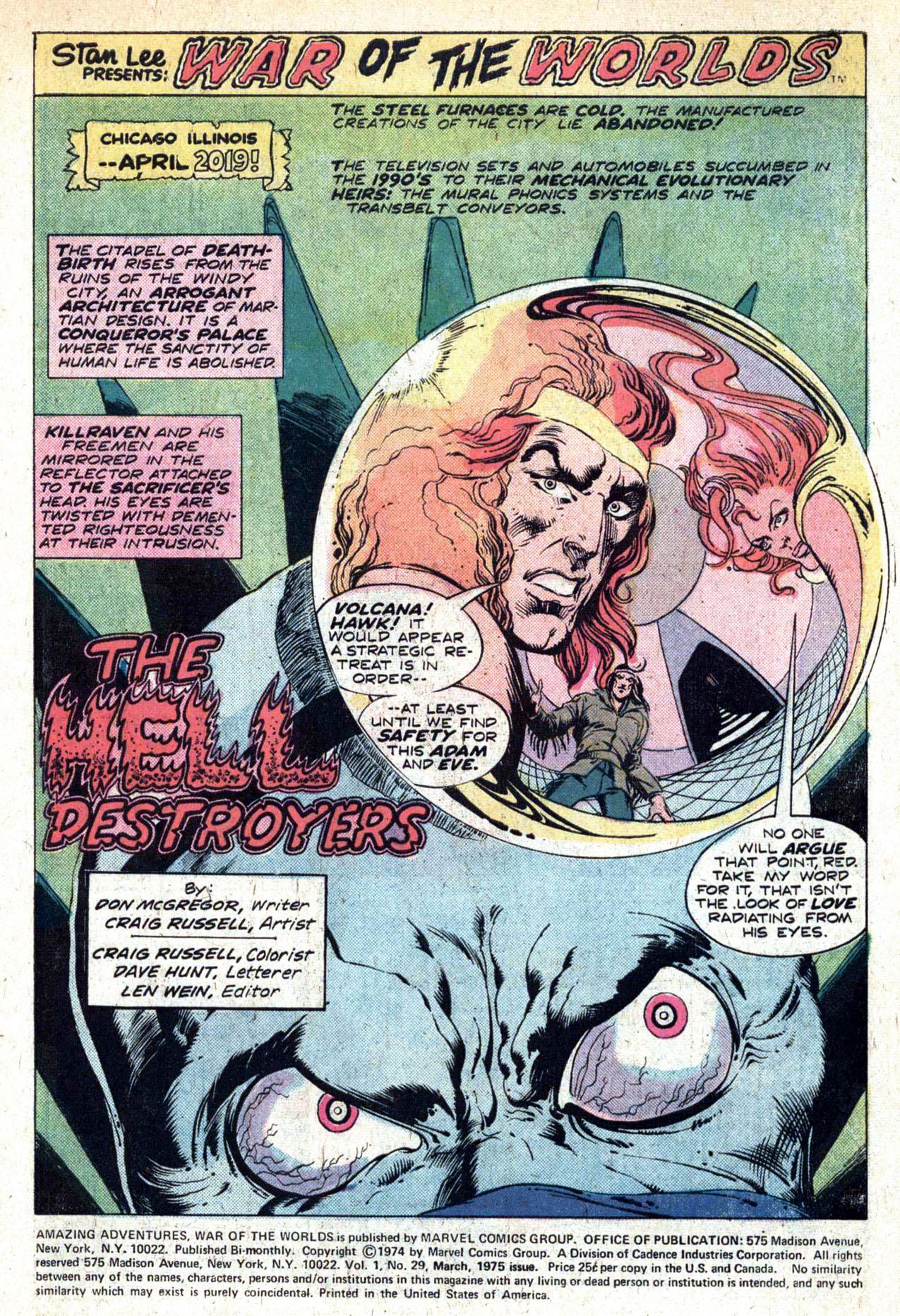 Read online Amazing Adventures (1970) comic -  Issue #29 - 3