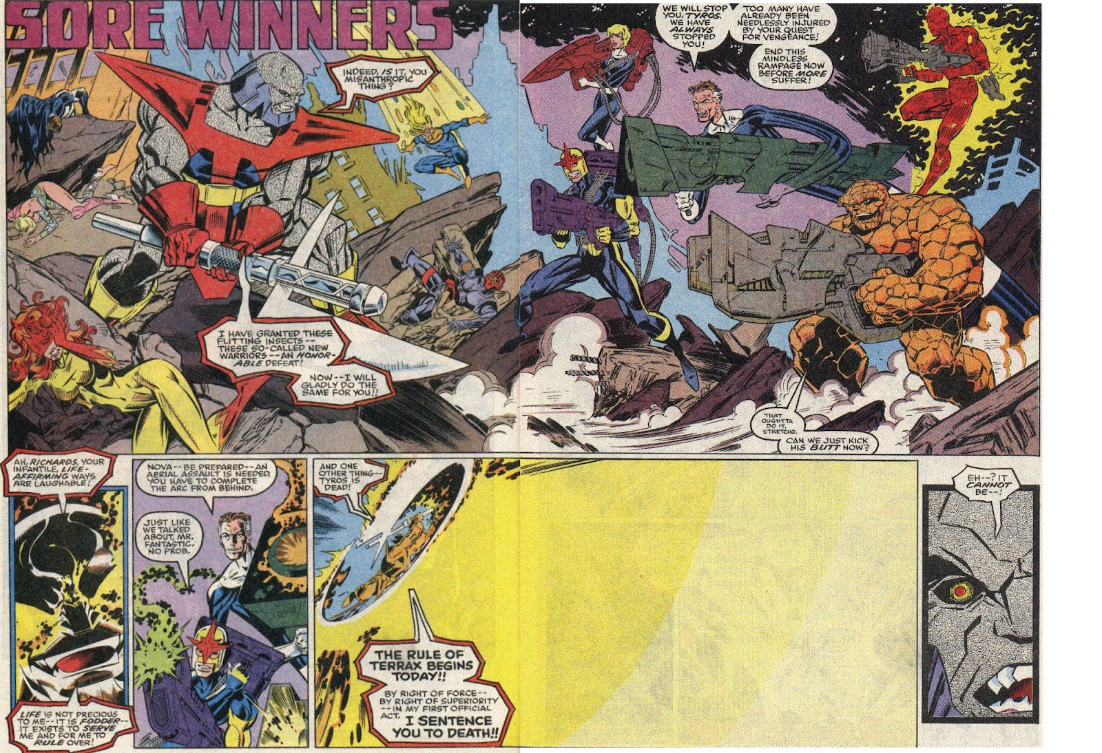 The New Warriors Issue #17 #21 - English 3