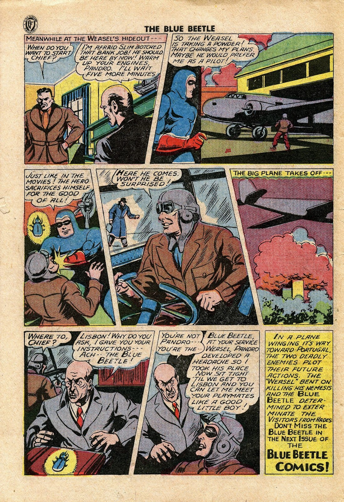 The Blue Beetle issue 34 - Page 43