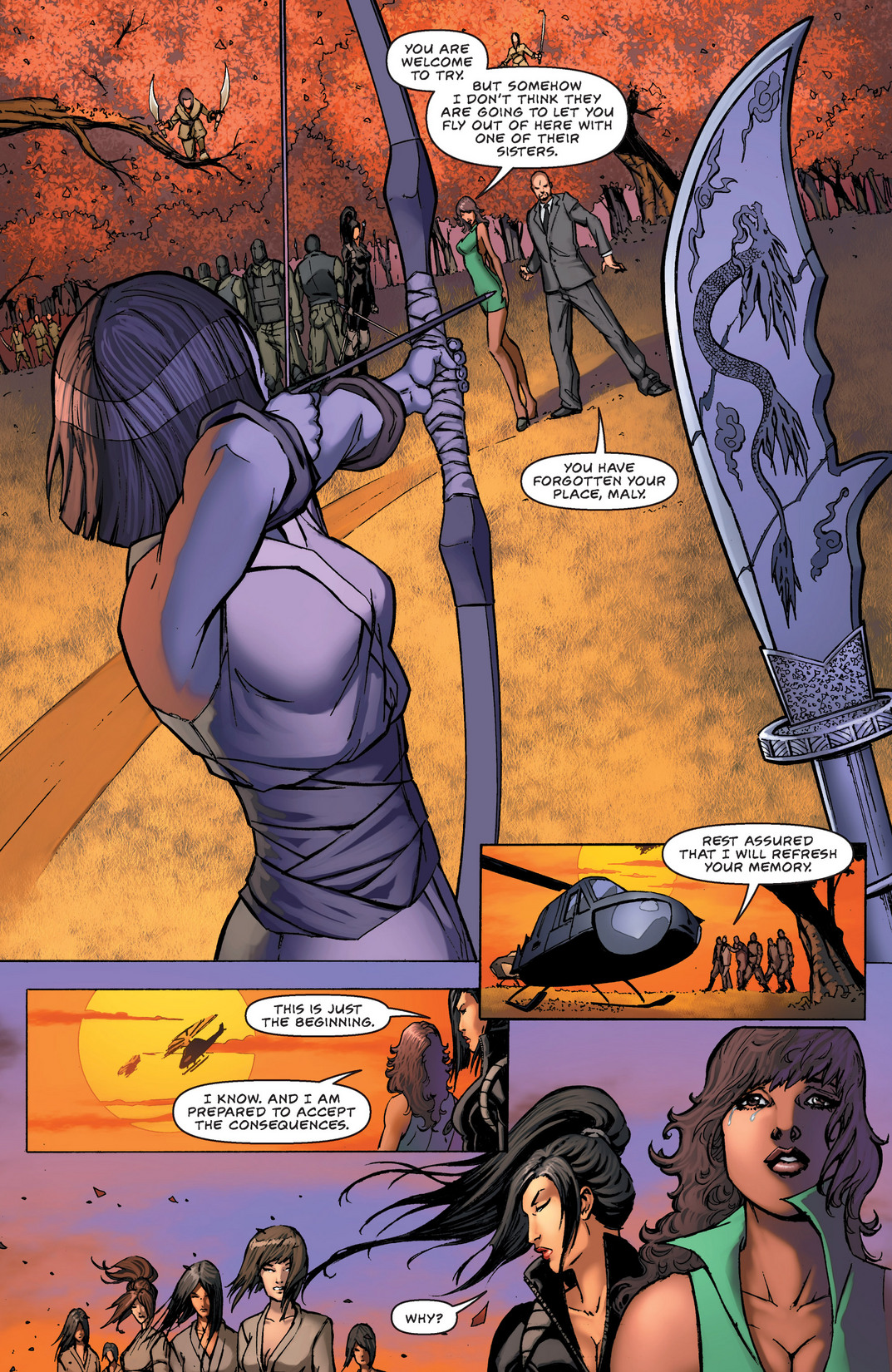 Read online All New Executive Assistant: Iris comic -  Issue #2 - 8