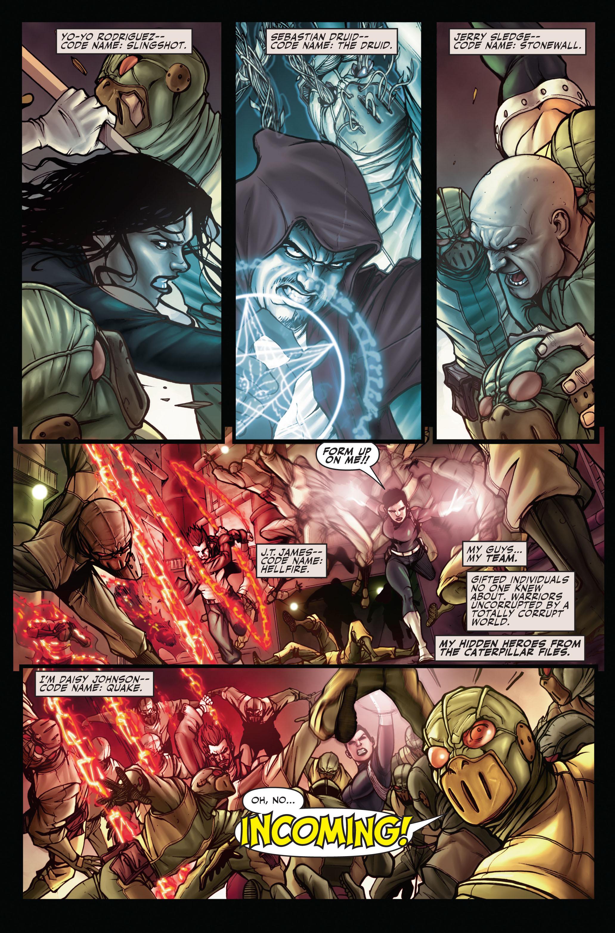 Read online Secret Warriors comic -  Issue #1 - 7