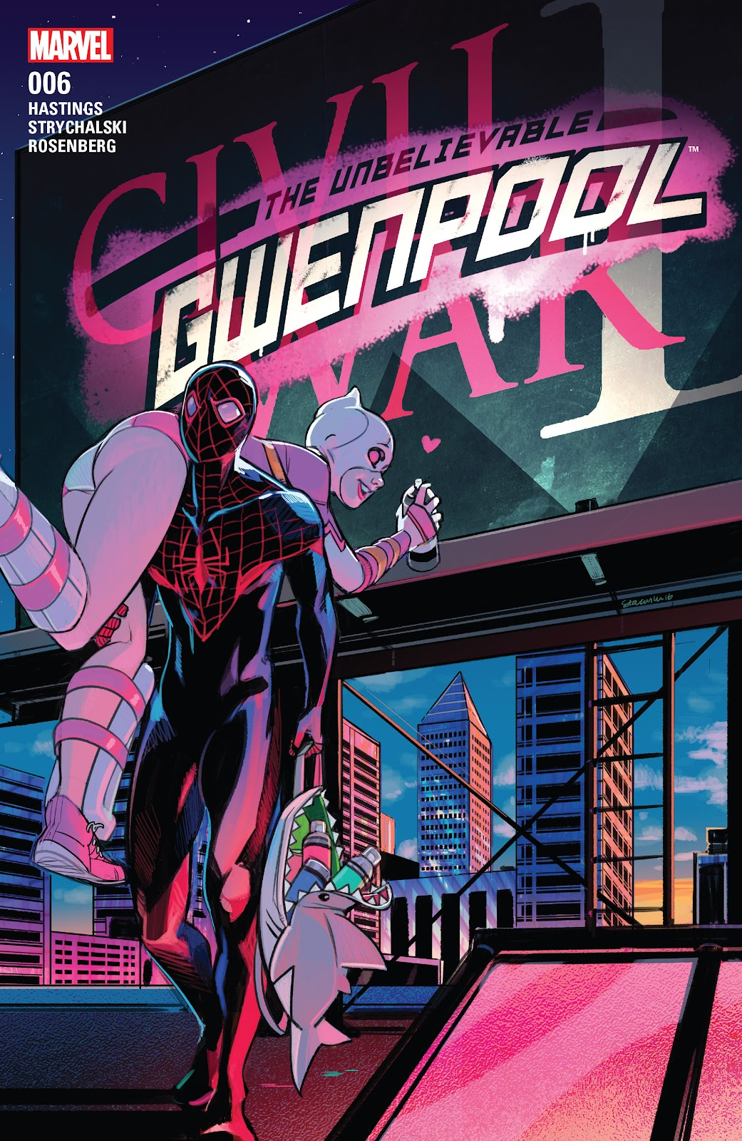The Unbelievable Gwenpool 6 Page 1