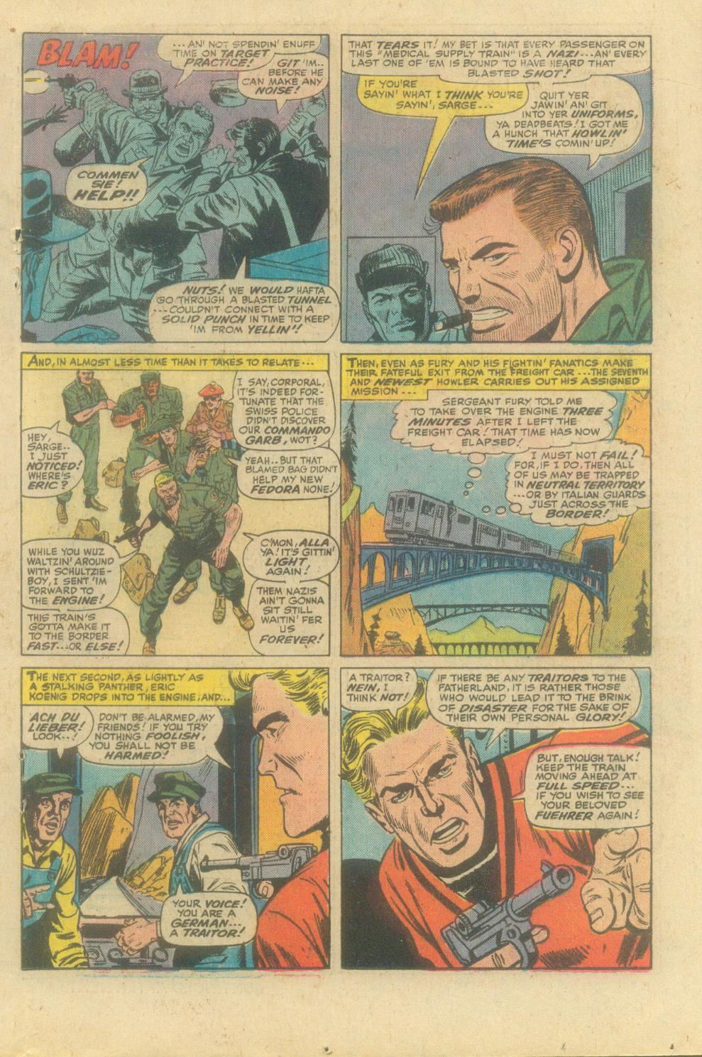 Read online Sgt. Fury comic -  Issue #138 - 19