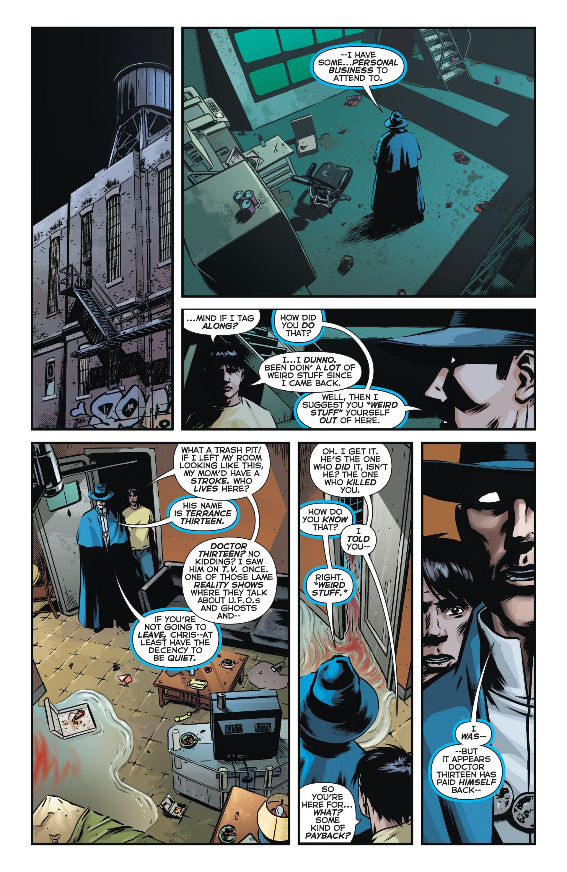 Read online Trinity of Sin: The Phantom Stranger comic -  Issue #12 - 13