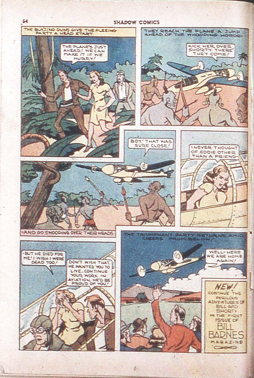 Read online Shadow Comics comic -  Issue #6 - 66