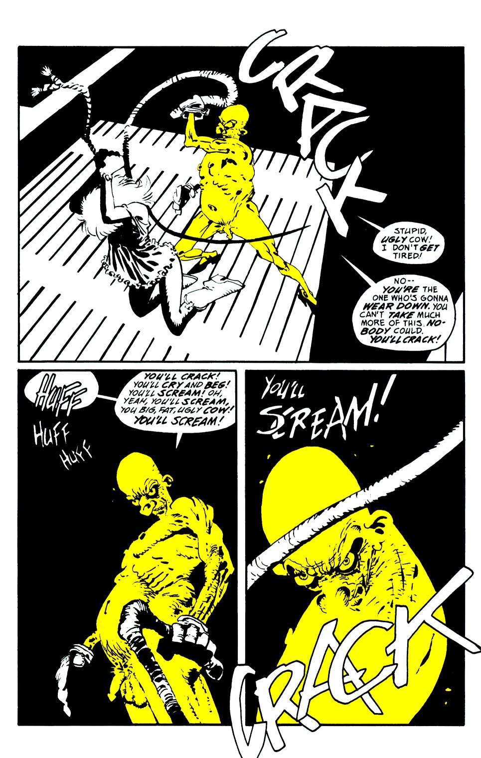 Read online Sin City: That Yellow Bastard comic -  Issue #6 - 29